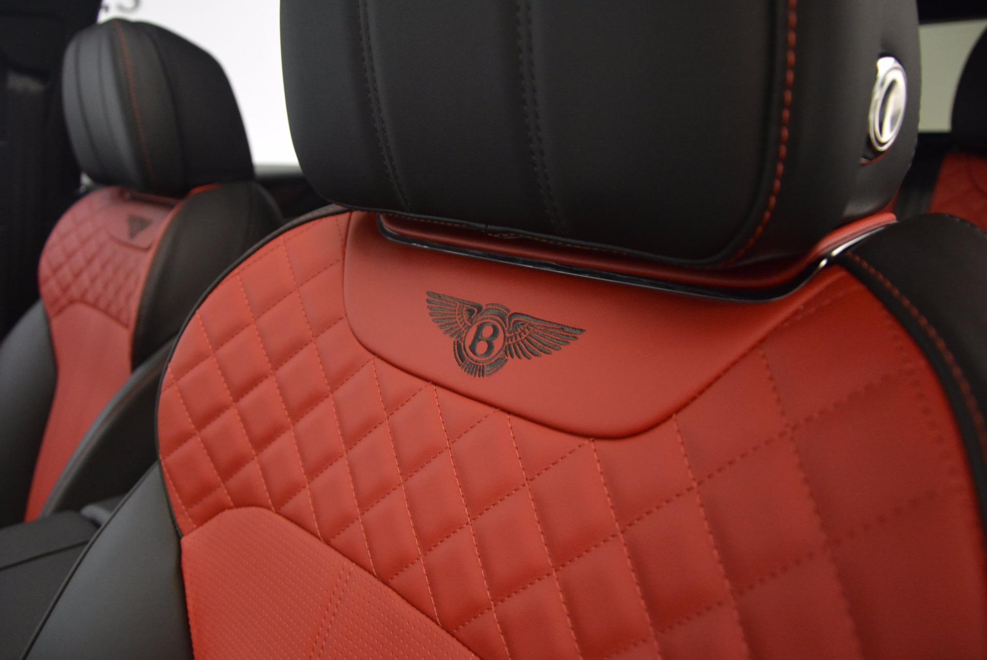 New 2018 Bentley Bentayga Black Edition For Sale In Westport, CT 1221_p38