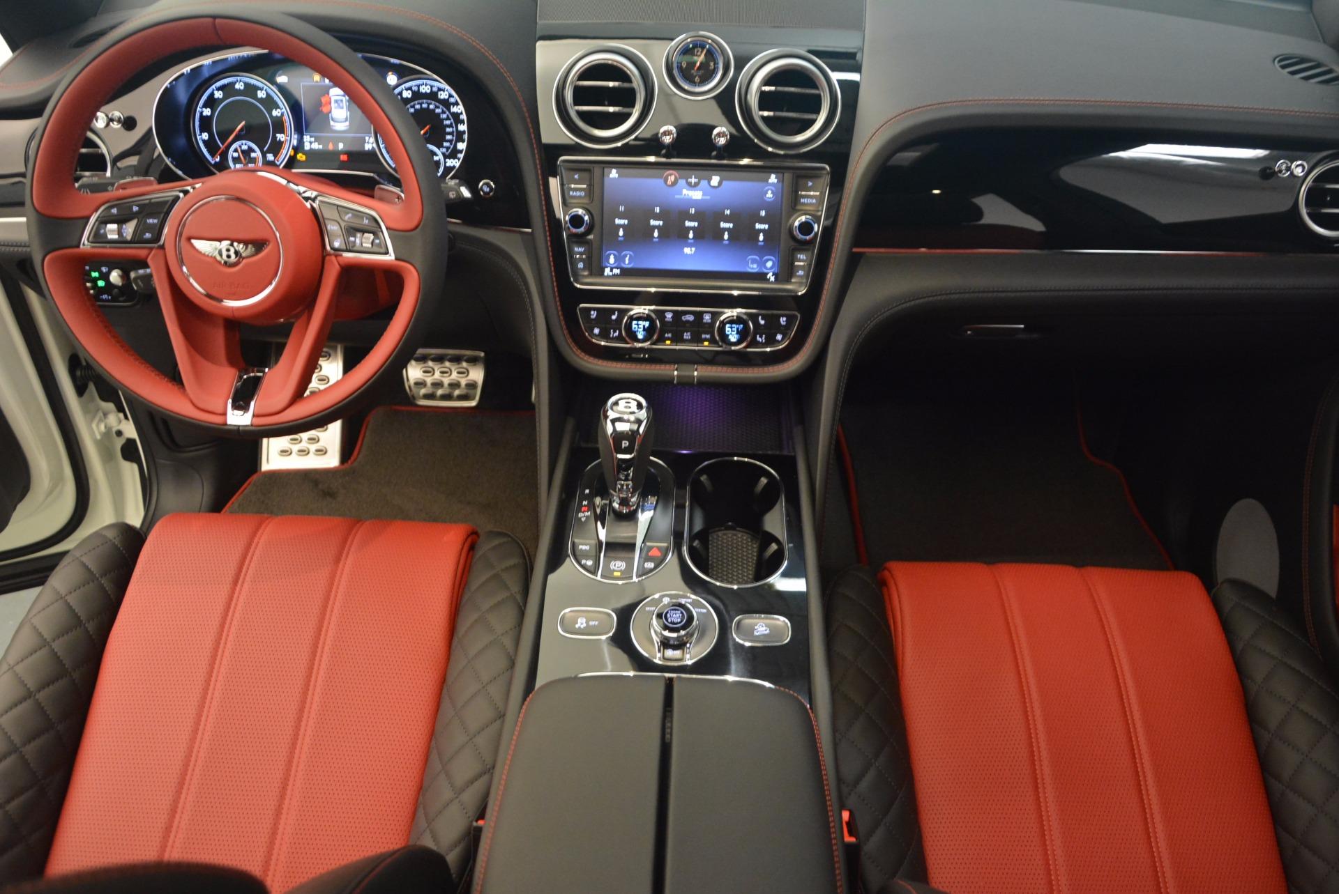 New 2018 Bentley Bentayga Black Edition For Sale In Westport, CT 1221_p39