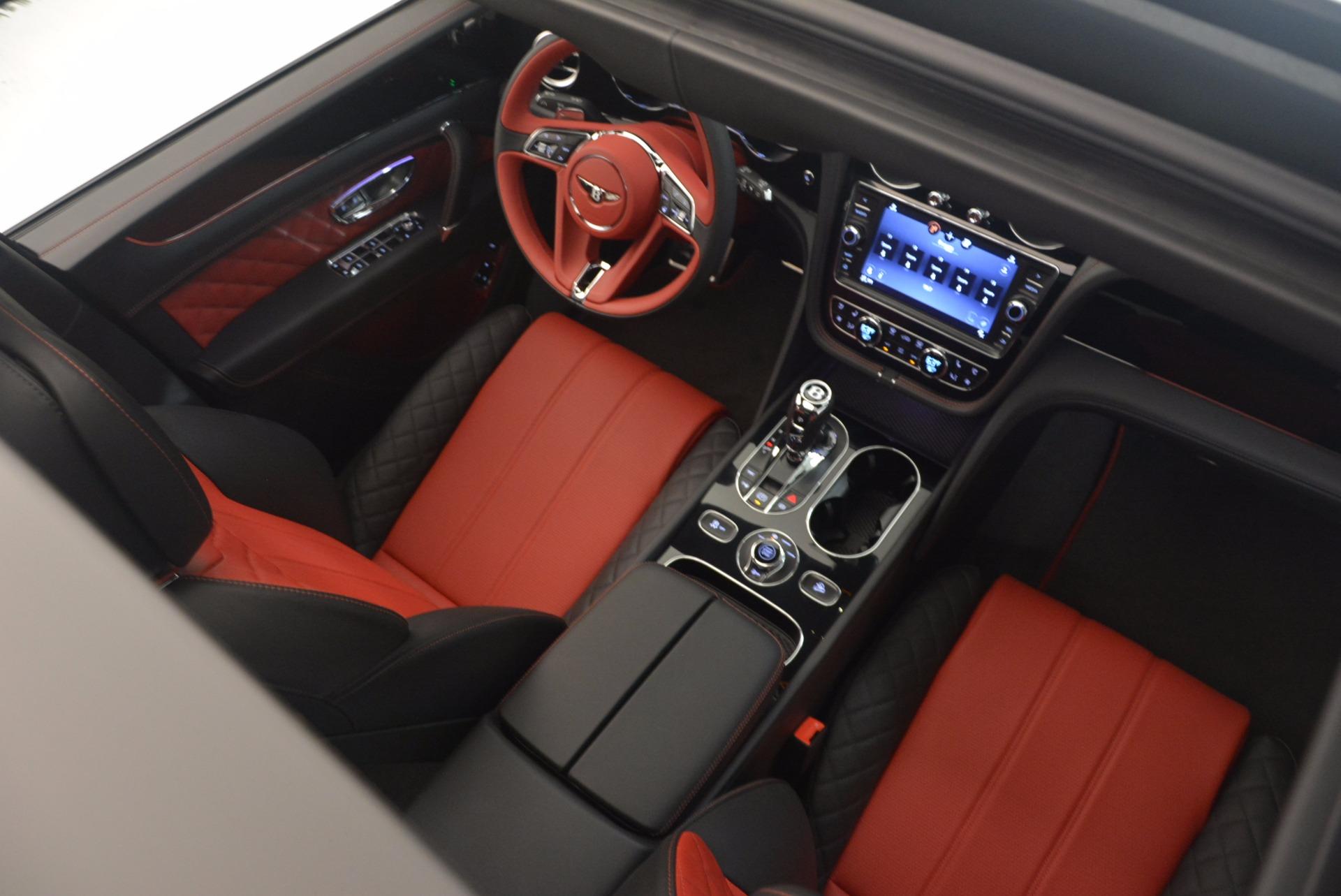 New 2018 Bentley Bentayga Black Edition For Sale In Westport, CT 1221_p50