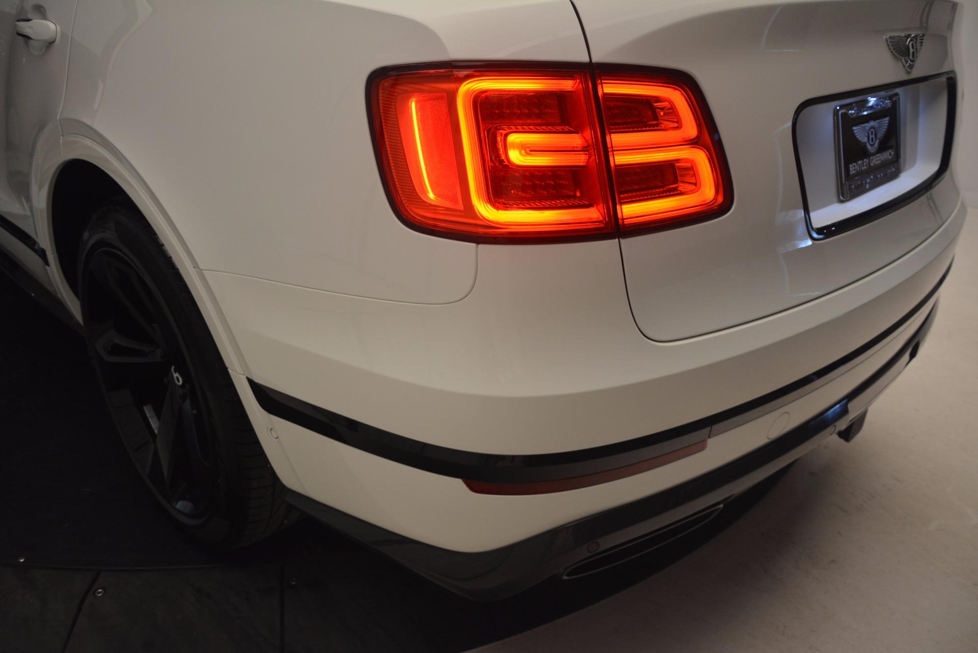 New 2018 Bentley Bentayga Black Edition For Sale In Westport, CT 1221_p52