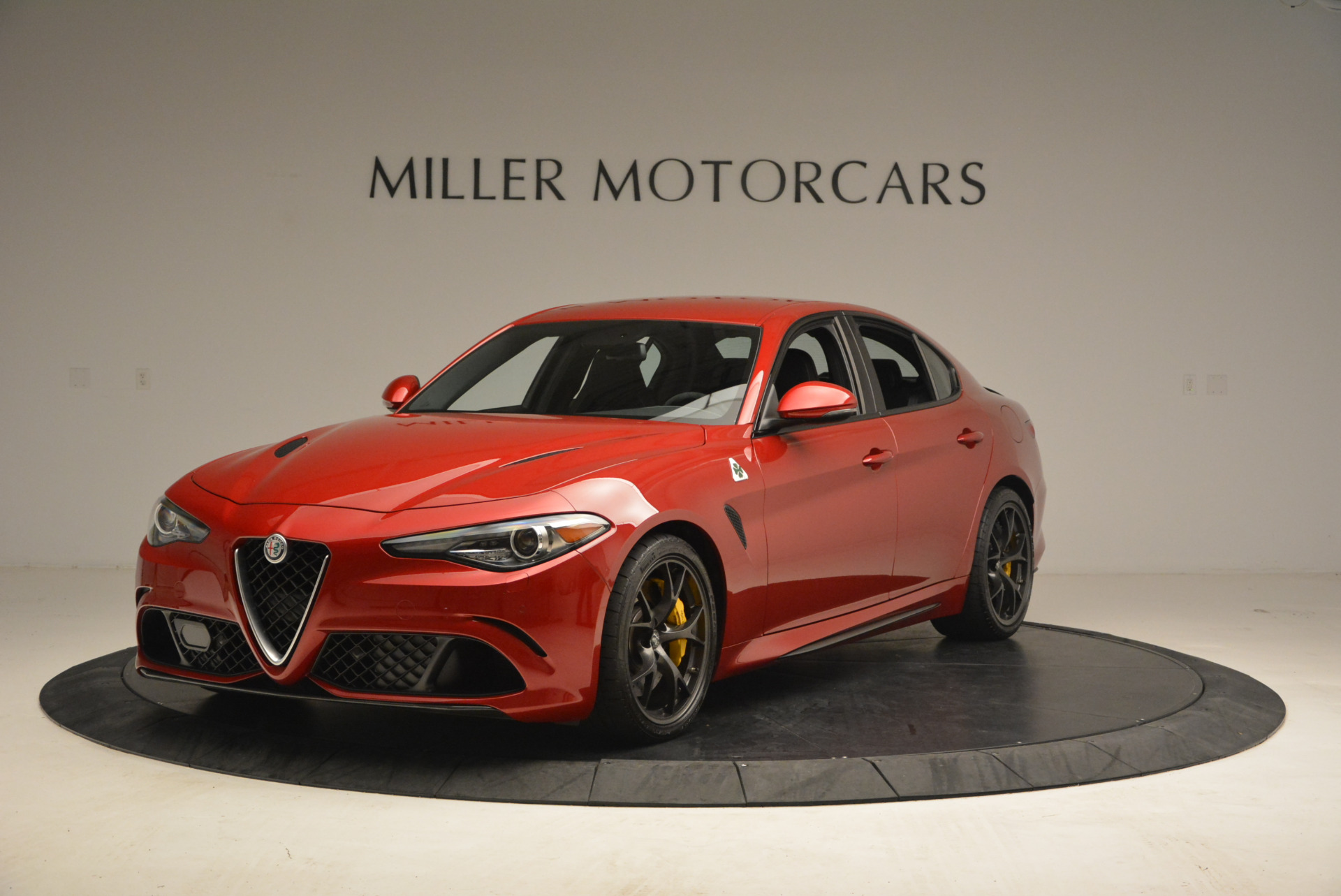 used 2017 alfa romeo giulia quadrifoglio westport ct. Black Bedroom Furniture Sets. Home Design Ideas