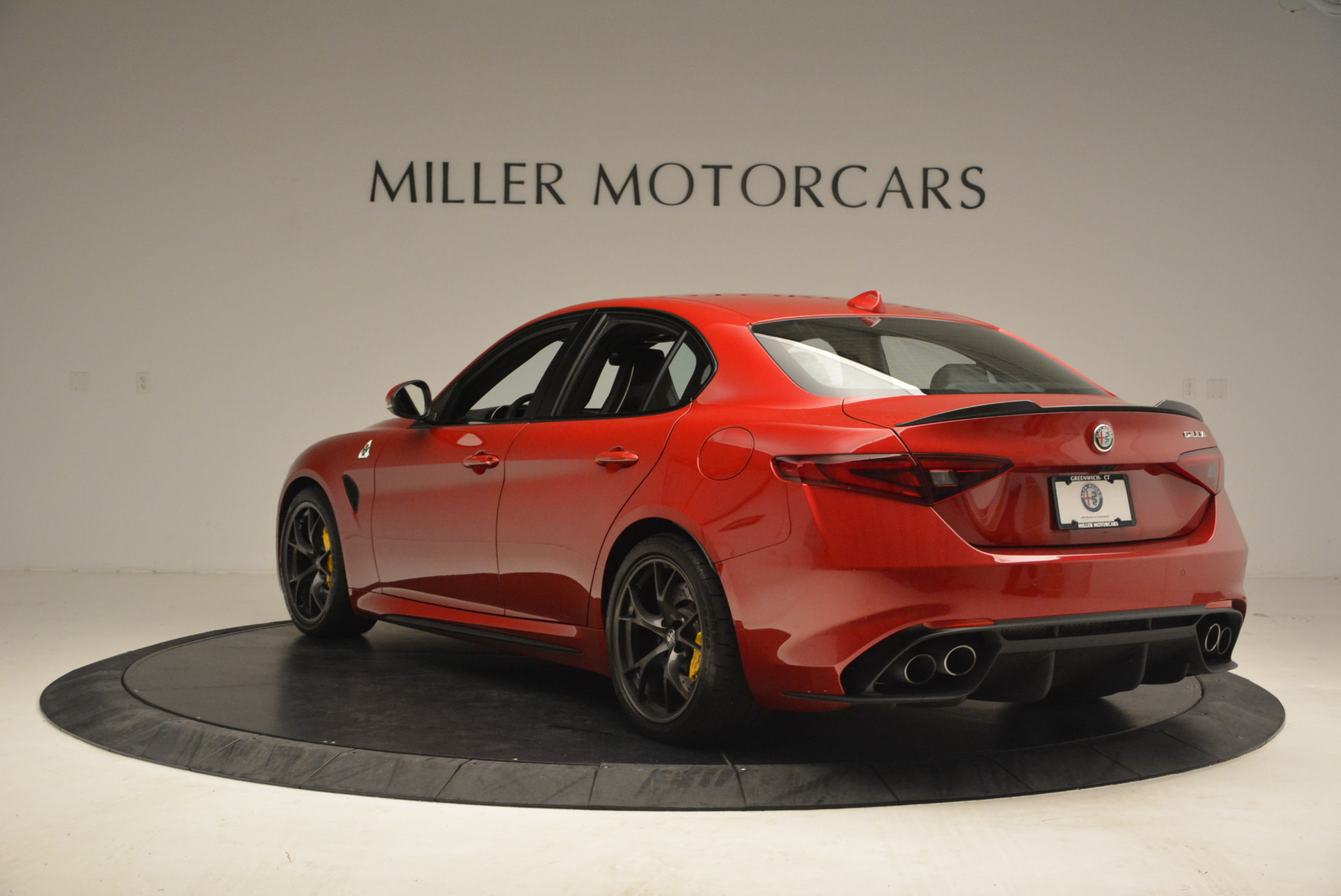 Used 2017 Alfa Romeo Giulia Quadrifoglio For Sale In Westport, CT 1245_p5