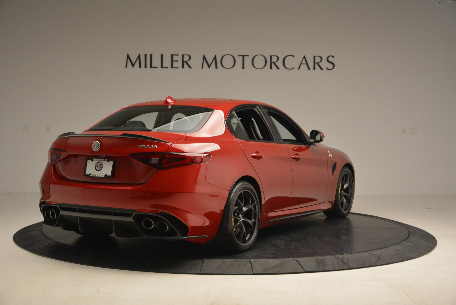 Used 2017 Alfa Romeo Giulia Quadrifoglio For Sale In Westport, CT 1245_p7