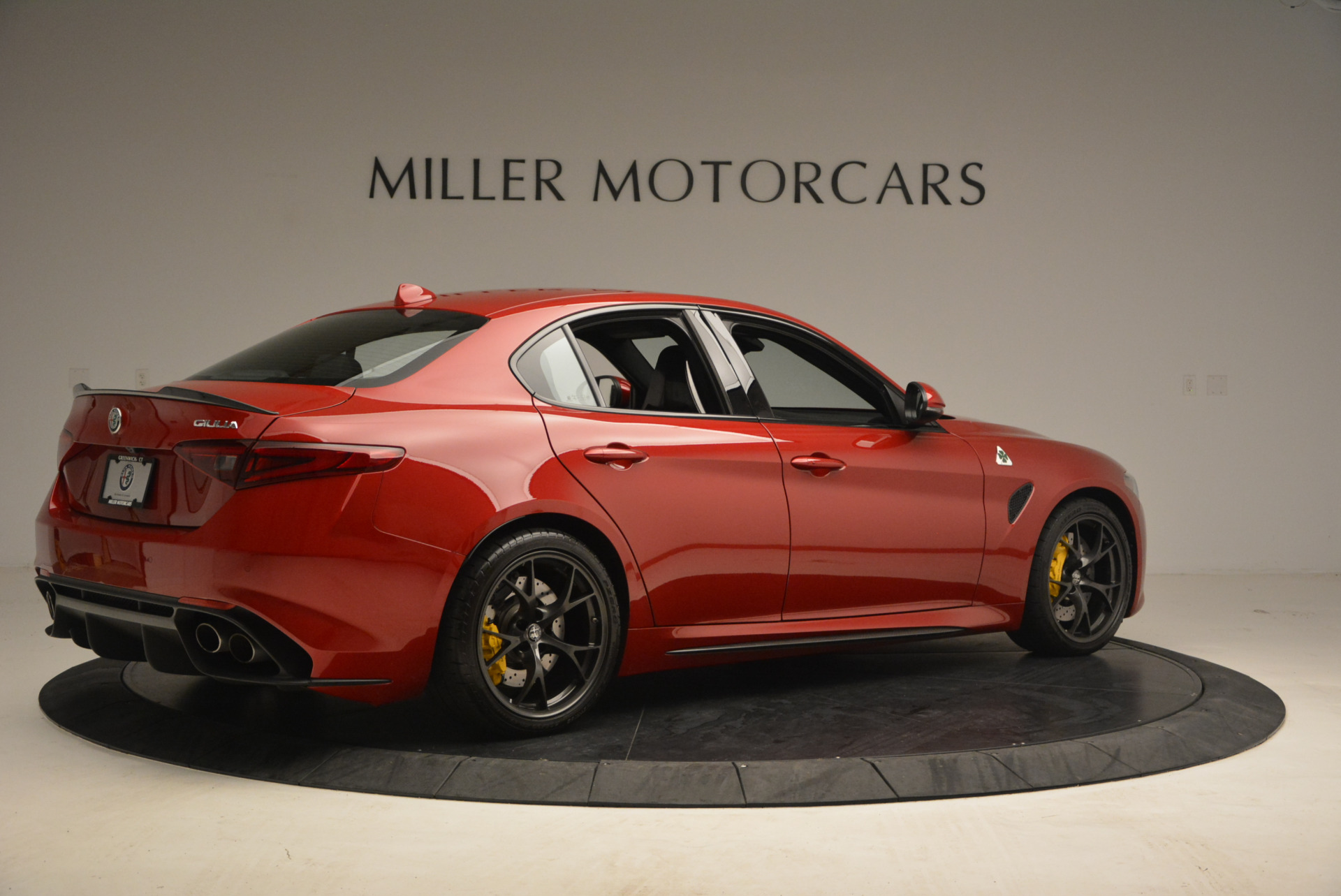 Used 2017 Alfa Romeo Giulia Quadrifoglio For Sale In Westport, CT 1245_p8