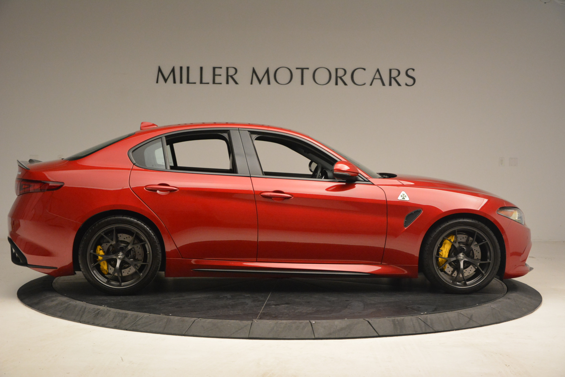 Used 2017 Alfa Romeo Giulia Quadrifoglio For Sale In Westport, CT 1245_p9