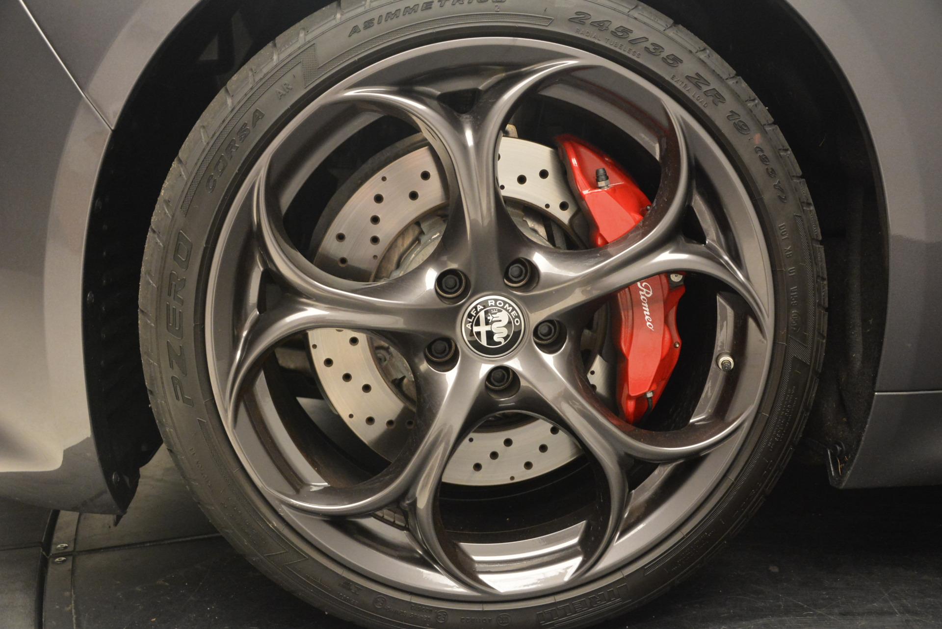 New 2017 Alfa Romeo Giulia Quadrifoglio For Sale In Westport, CT 1258_p22