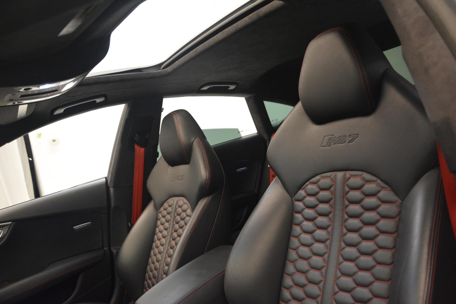 Used 2014 Audi RS 7 4.0T quattro Prestige For Sale In Westport, CT 1262_p23