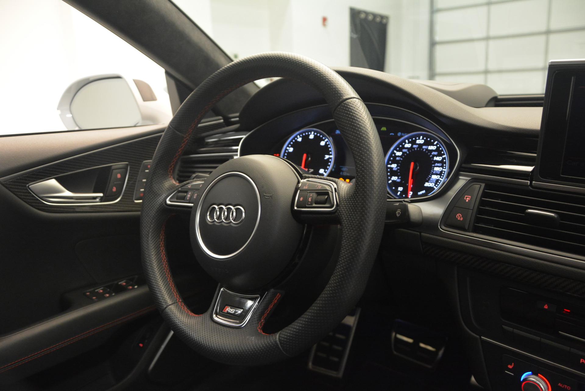 Used 2014 Audi RS 7 4.0T quattro Prestige For Sale In Westport, CT 1262_p47