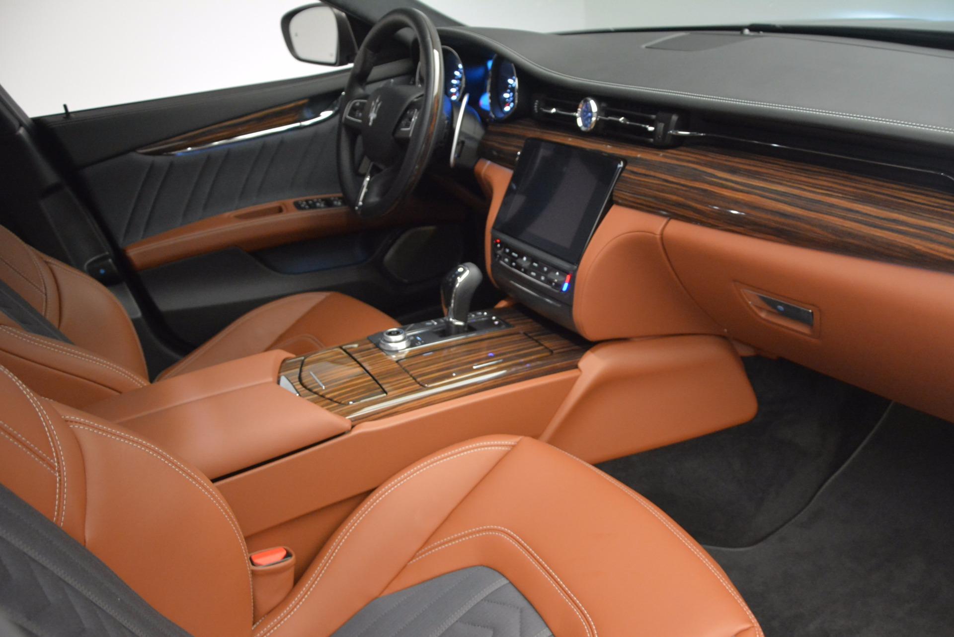 New 2017 Maserati Quattroporte S Q4 GranLusso For Sale In Westport, CT 1265_p16