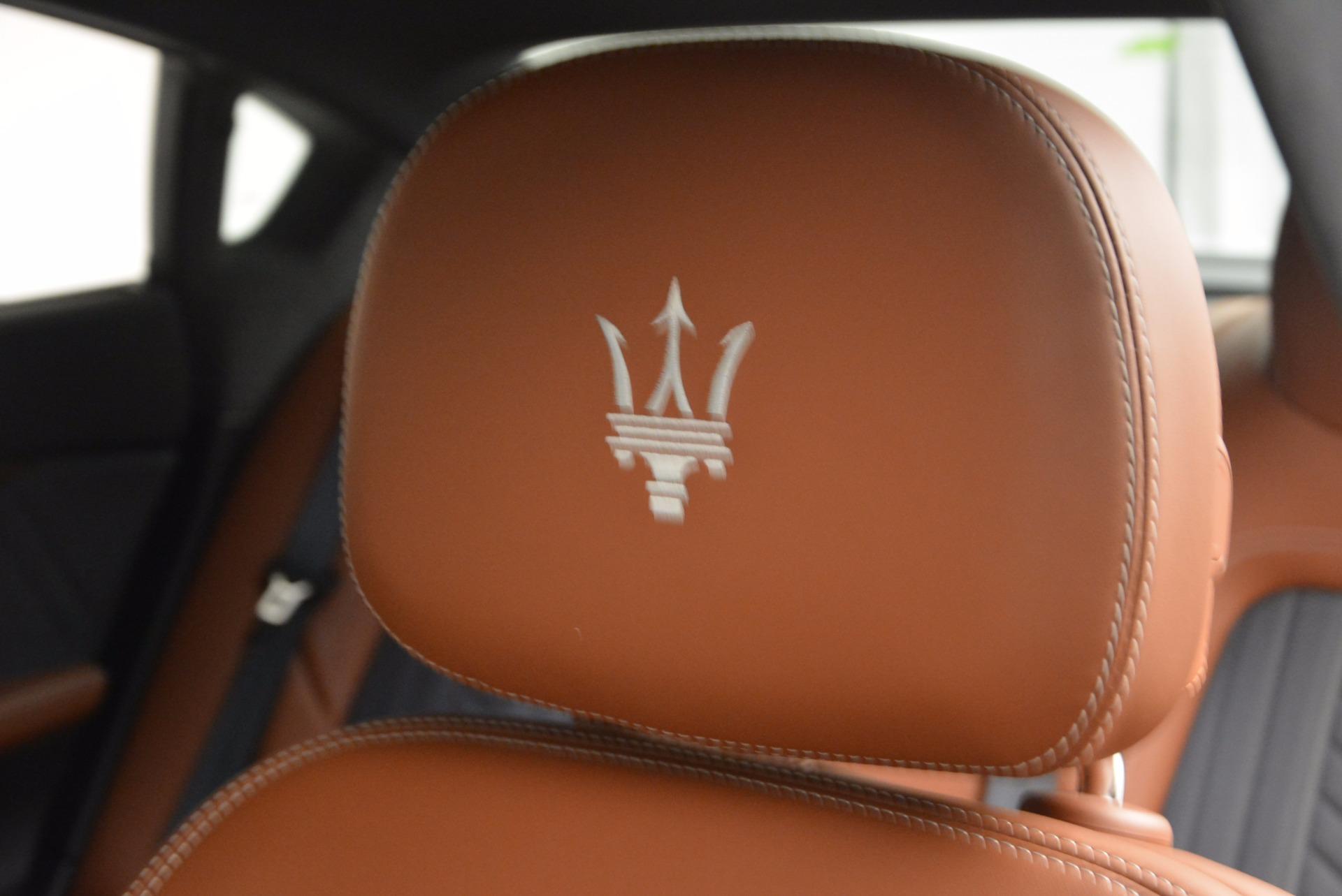 New 2017 Maserati Quattroporte S Q4 GranLusso For Sale In Westport, CT 1265_p20