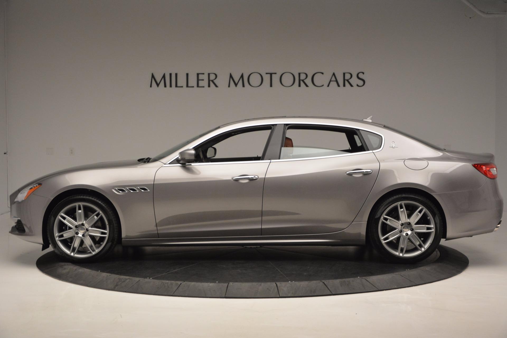 New 2017 Maserati Quattroporte S Q4 GranLusso For Sale In Westport, CT 1266_p3