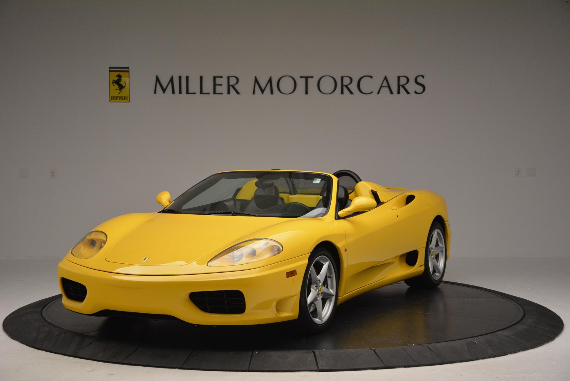 Used 2003 Ferrari 360 Spider 6-Speed Manual  For Sale In Westport, CT 127_main