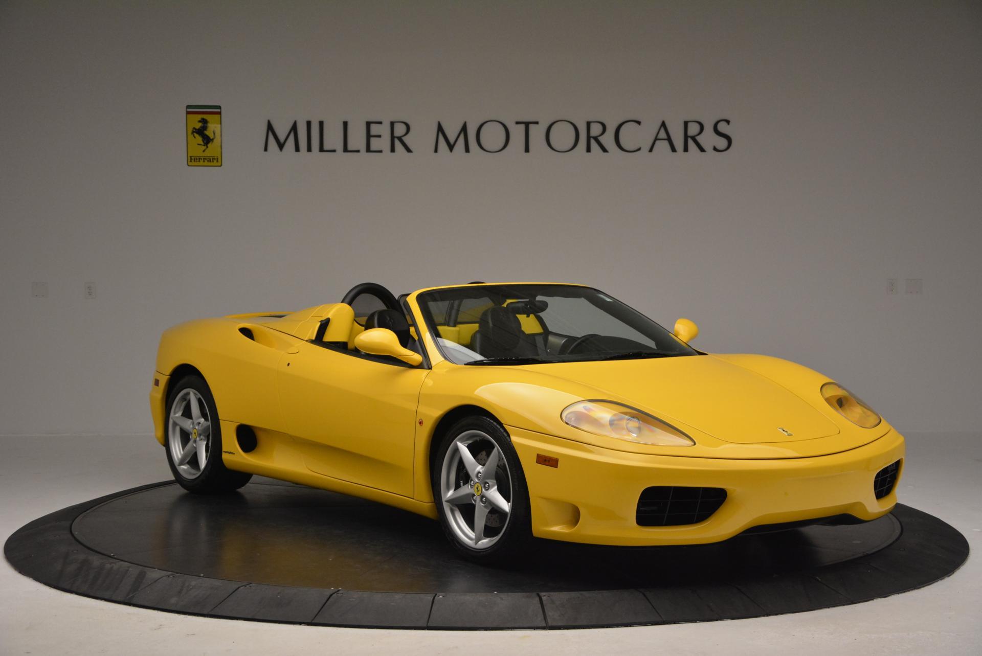 Used 2003 Ferrari 360 Spider 6-Speed Manual  For Sale In Westport, CT 127_p11