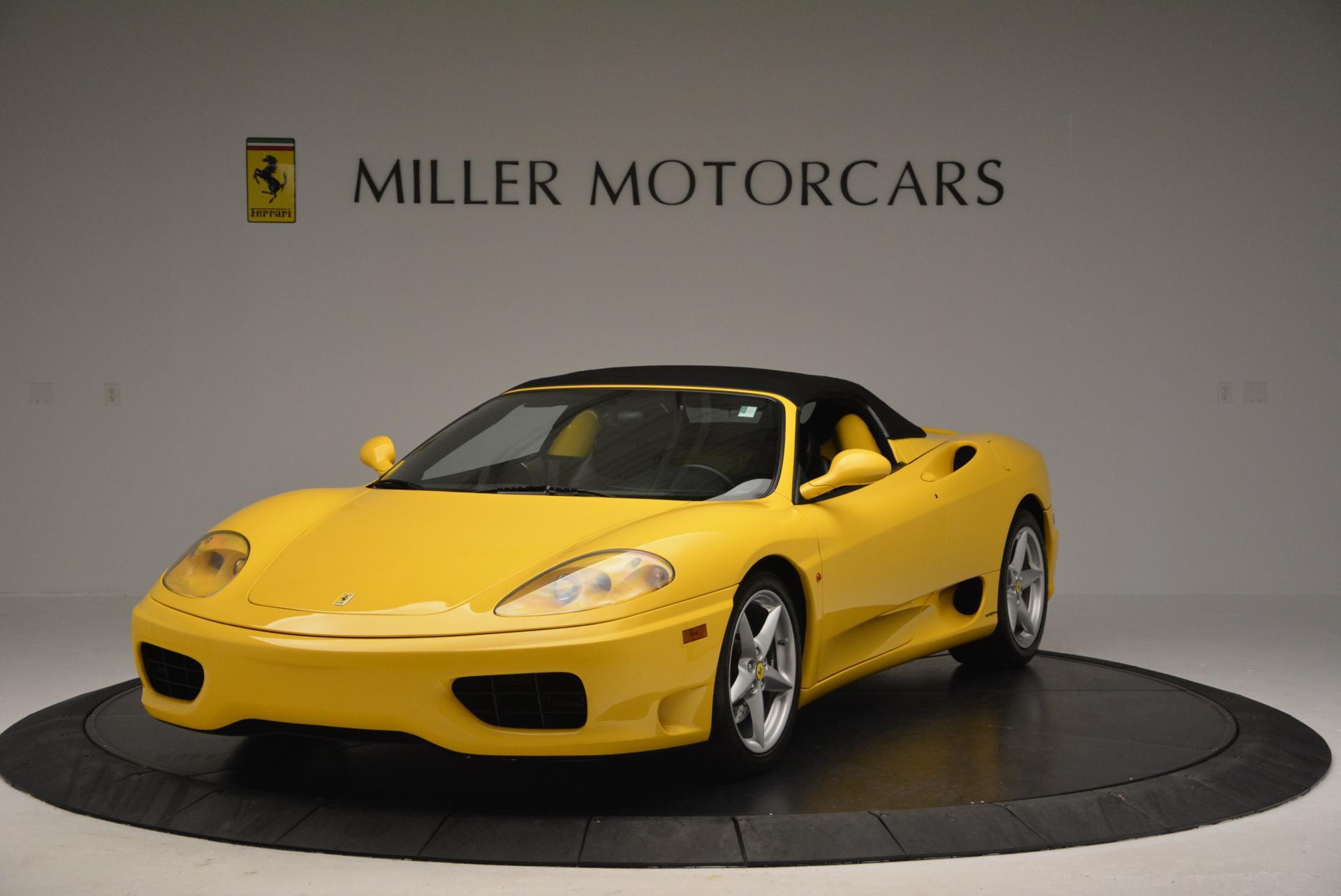 Used 2003 Ferrari 360 Spider 6-Speed Manual  For Sale In Westport, CT 127_p13