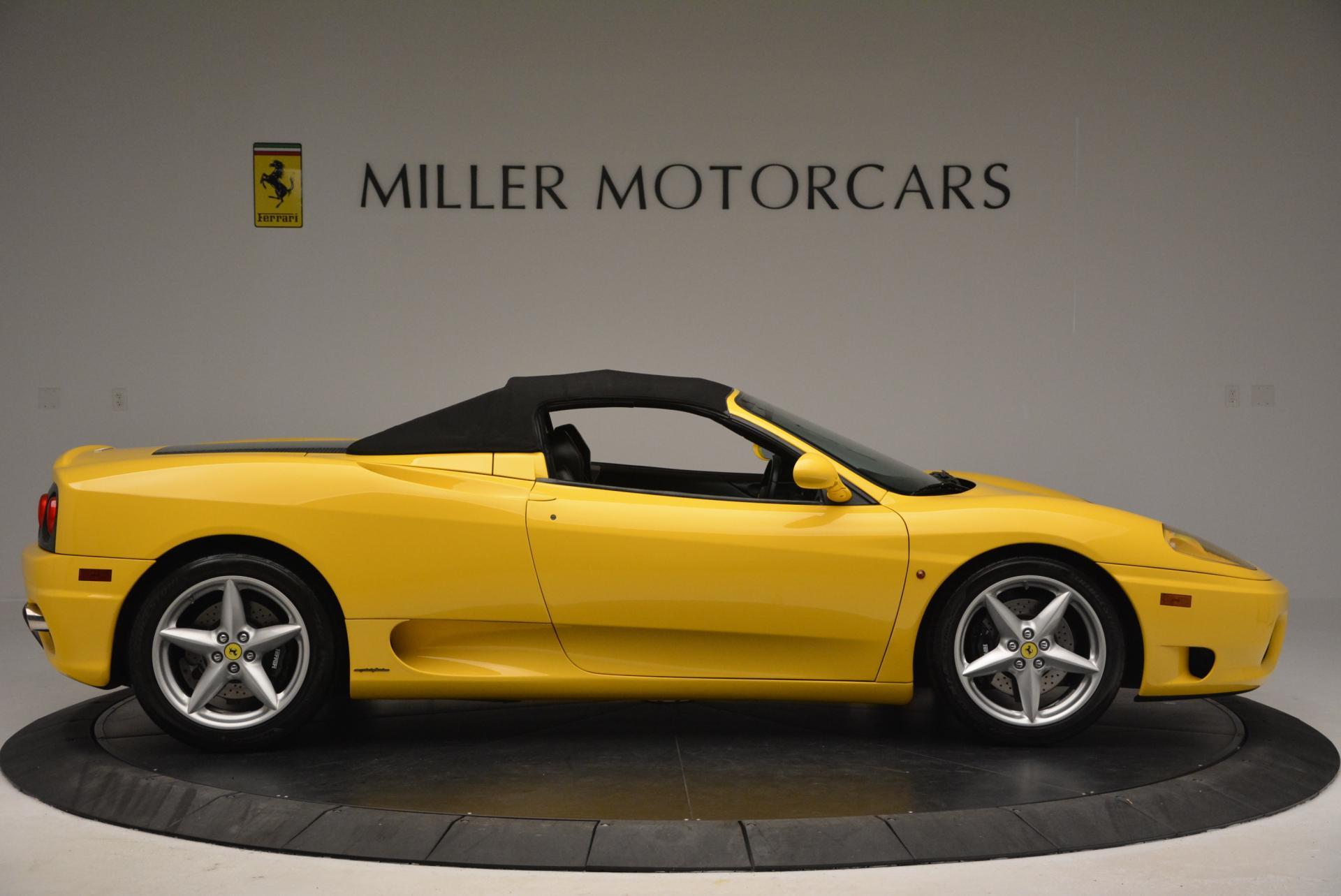 Used 2003 Ferrari 360 Spider 6-Speed Manual  For Sale In Westport, CT 127_p21