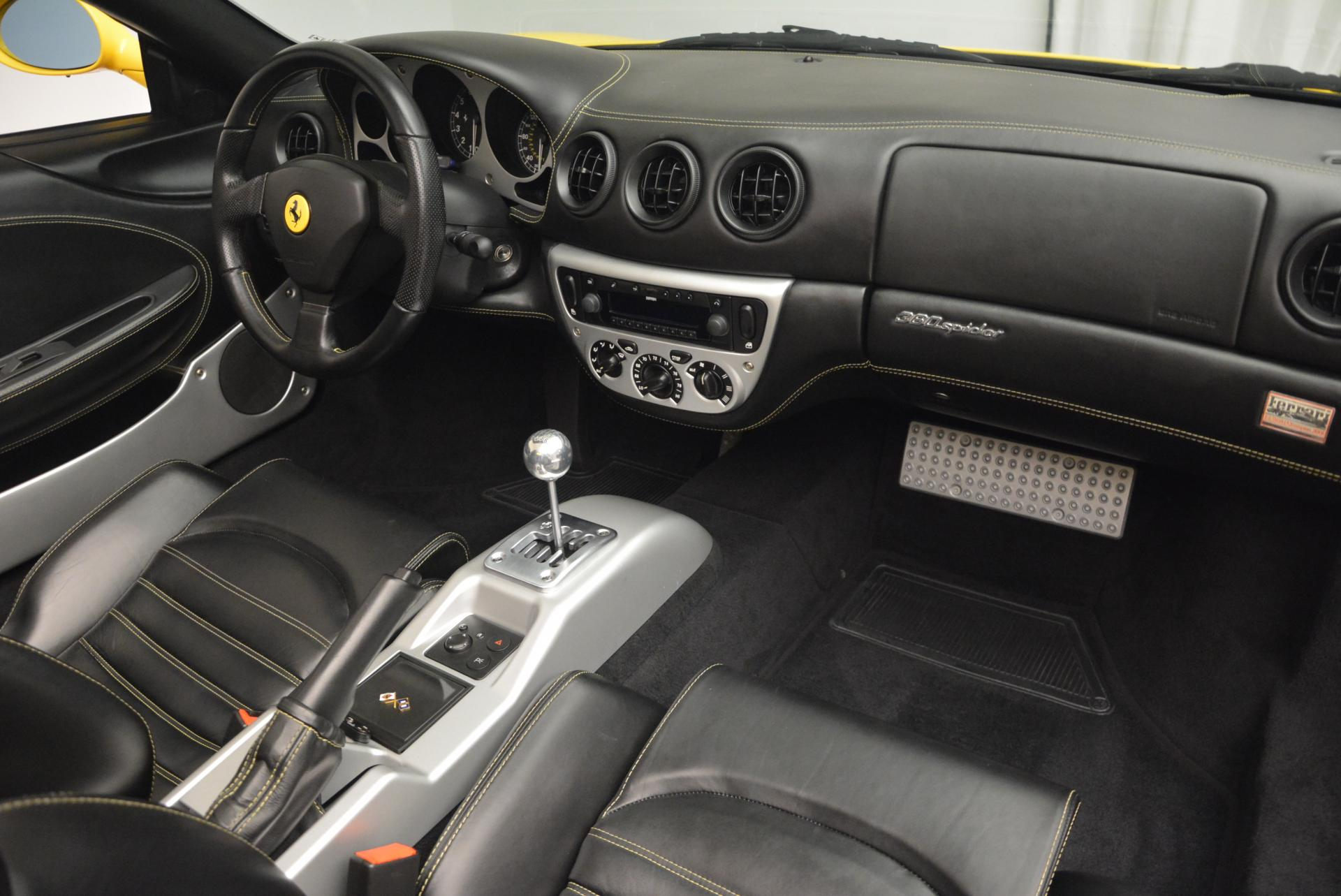 Used 2003 Ferrari 360 Spider 6-Speed Manual  For Sale In Westport, CT 127_p29