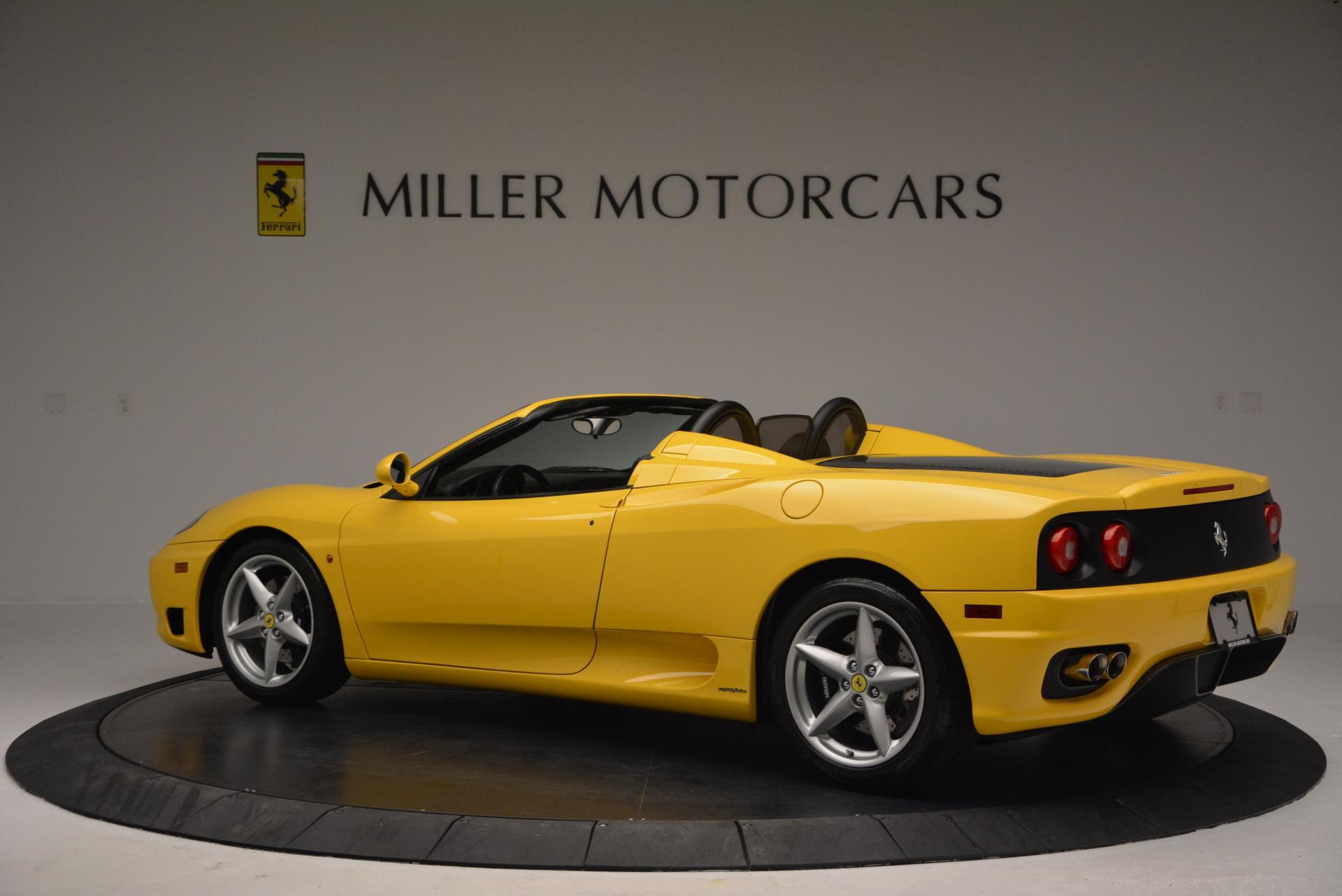 Used 2003 Ferrari 360 Spider 6-Speed Manual  For Sale In Westport, CT 127_p4