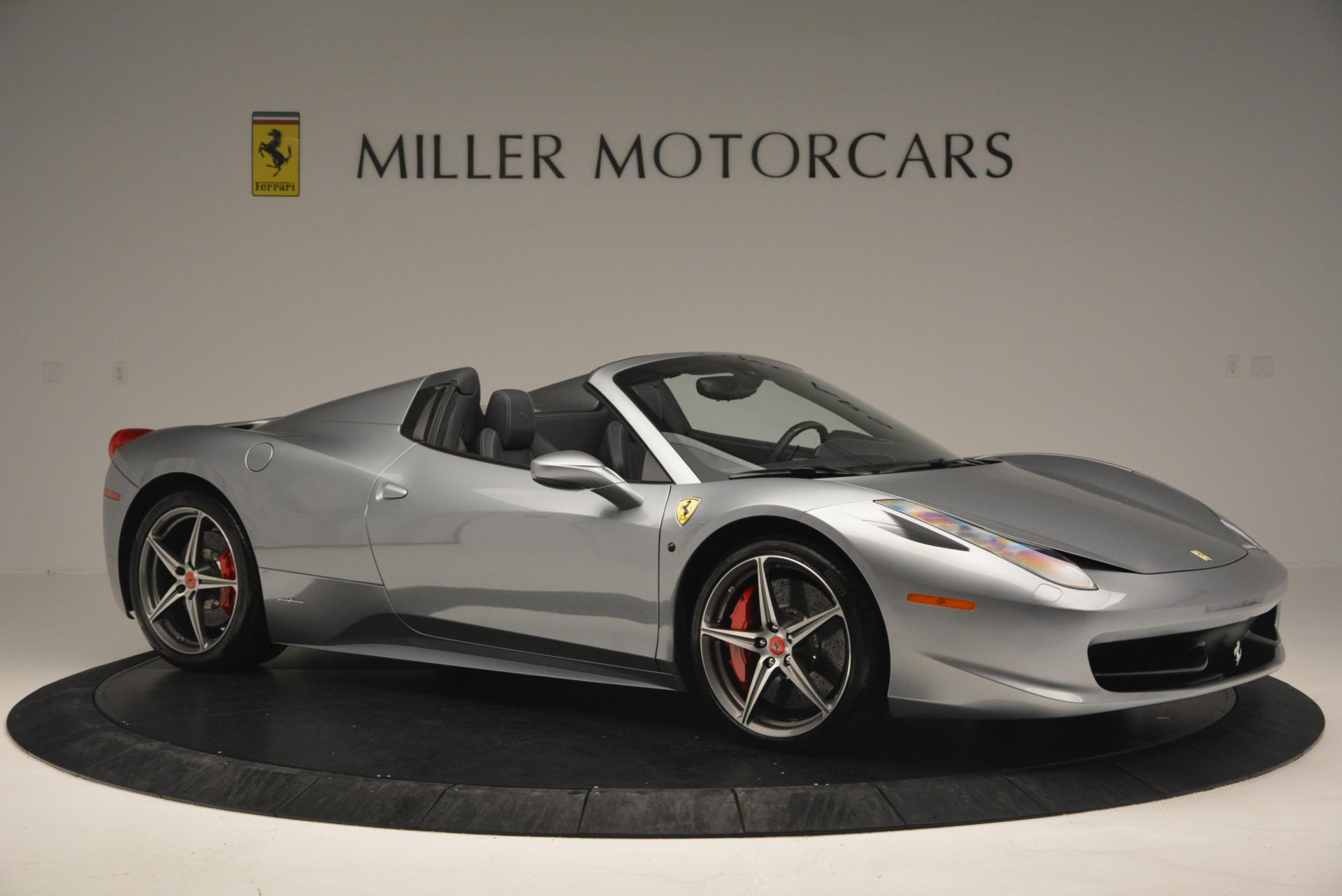 Used 2013 Ferrari 458 Spider  For Sale In Westport, CT 128_p10