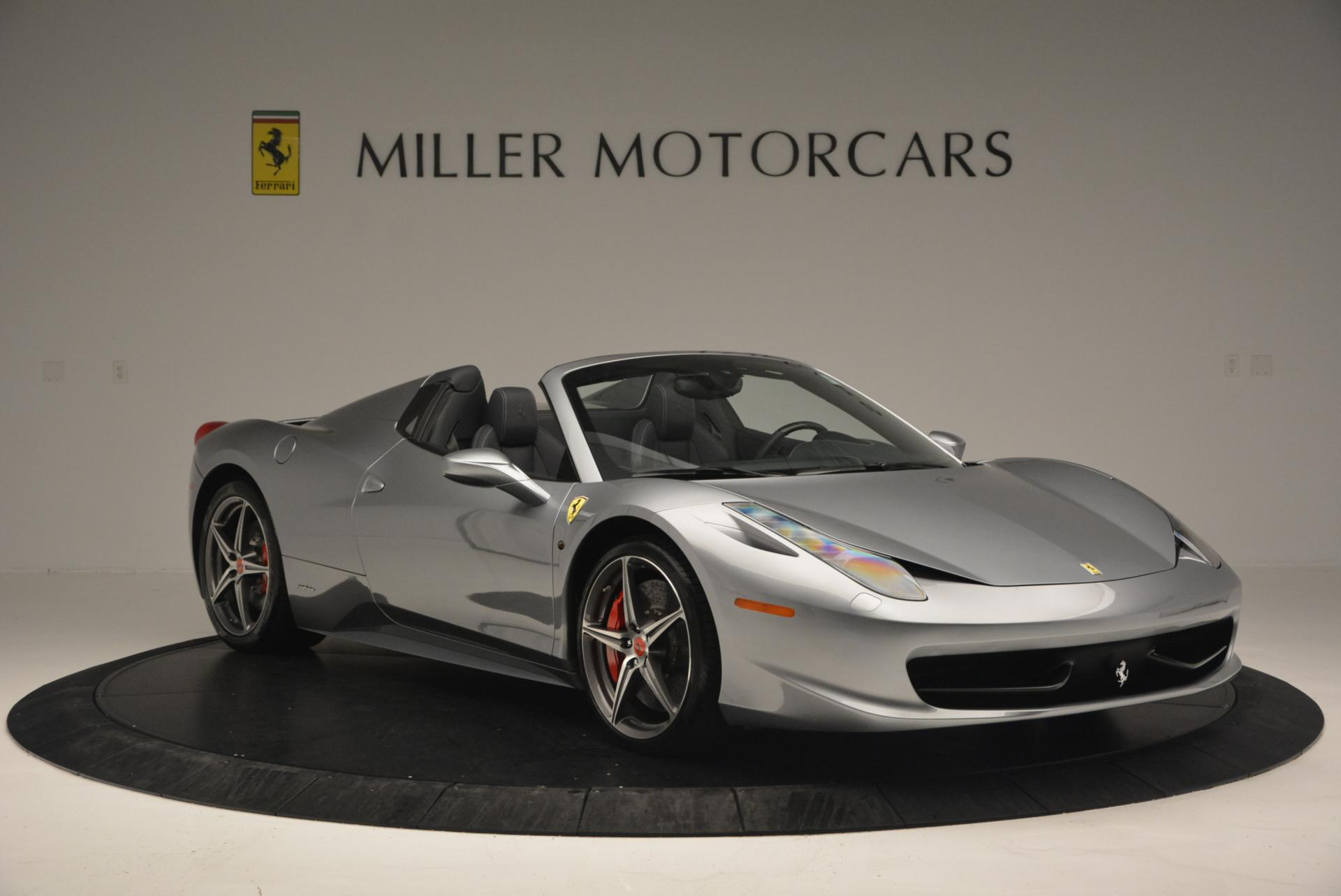 Used 2013 Ferrari 458 Spider  For Sale In Westport, CT 128_p11