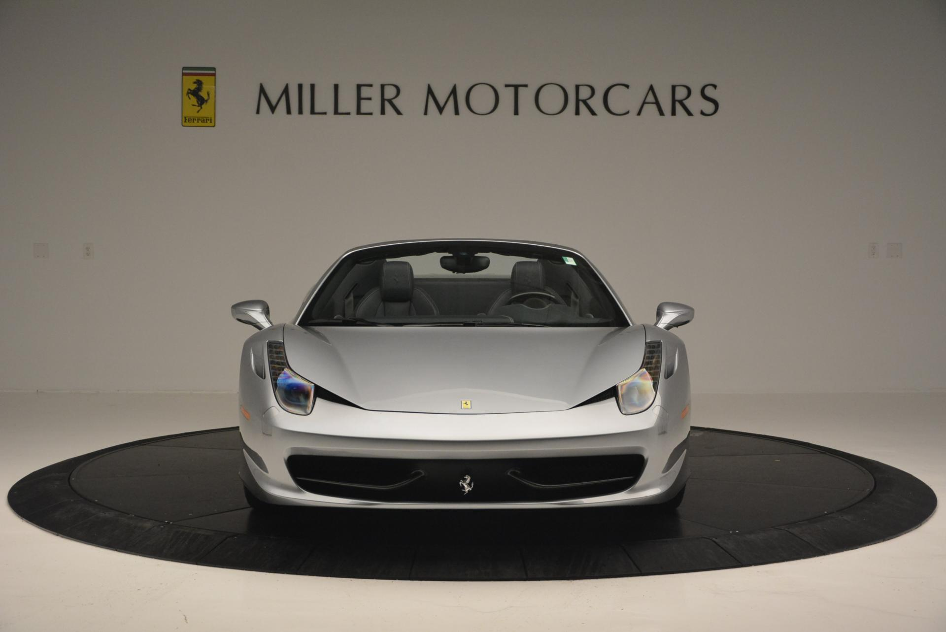 Used 2013 Ferrari 458 Spider  For Sale In Westport, CT 128_p12