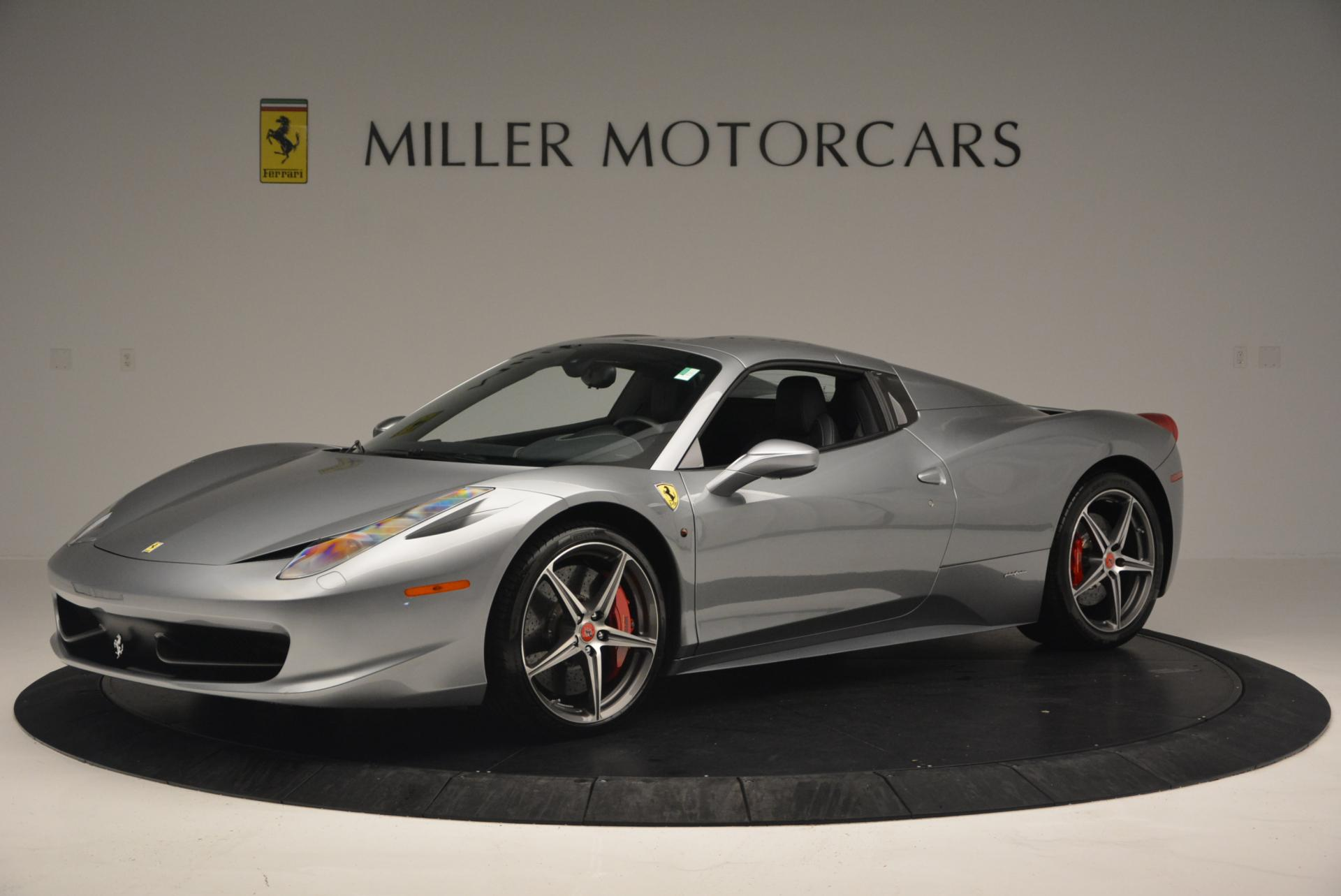 Used 2013 Ferrari 458 Spider  For Sale In Westport, CT 128_p14