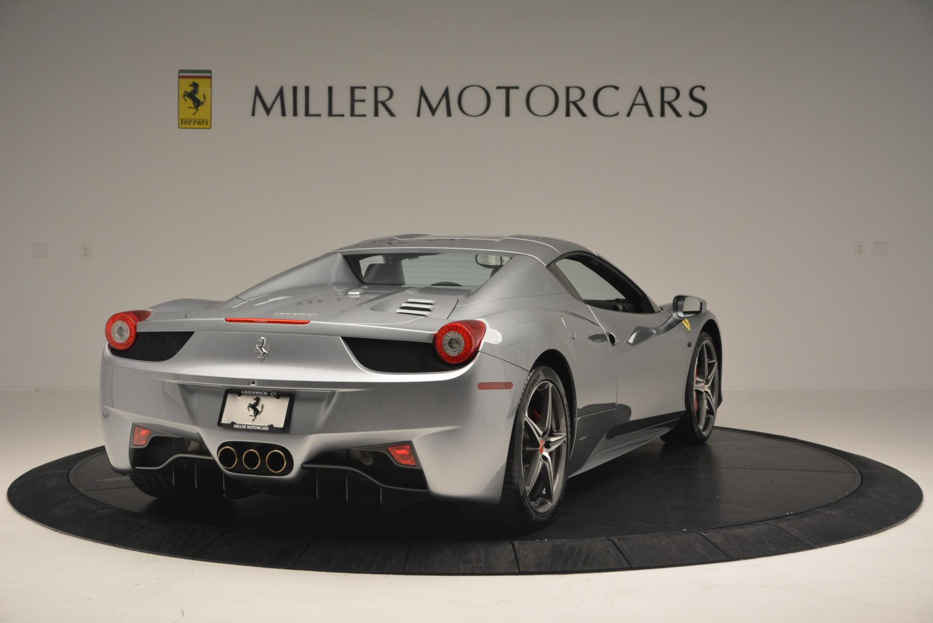 Used 2013 Ferrari 458 Spider  For Sale In Westport, CT 128_p19