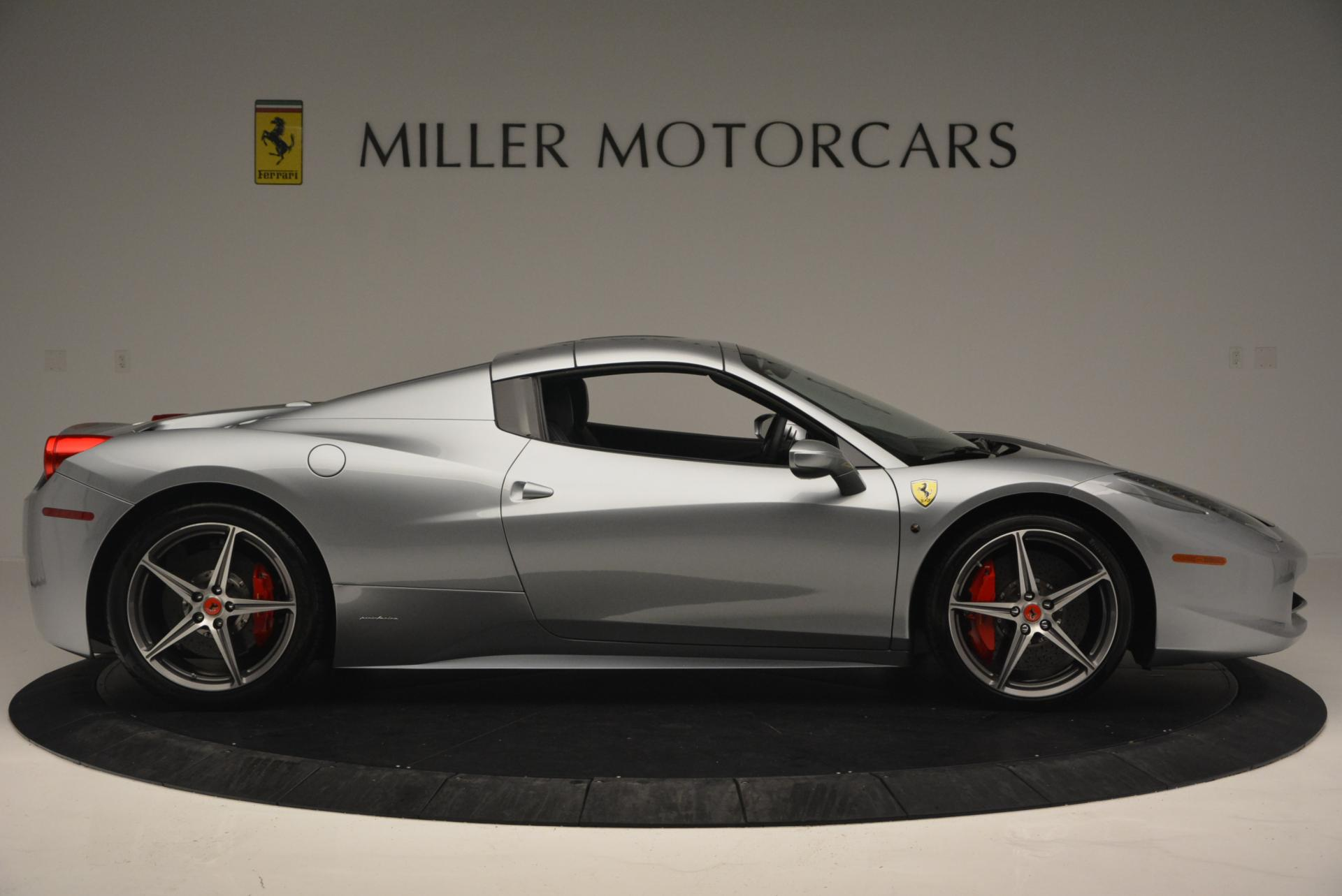Used 2013 Ferrari 458 Spider  For Sale In Westport, CT 128_p21