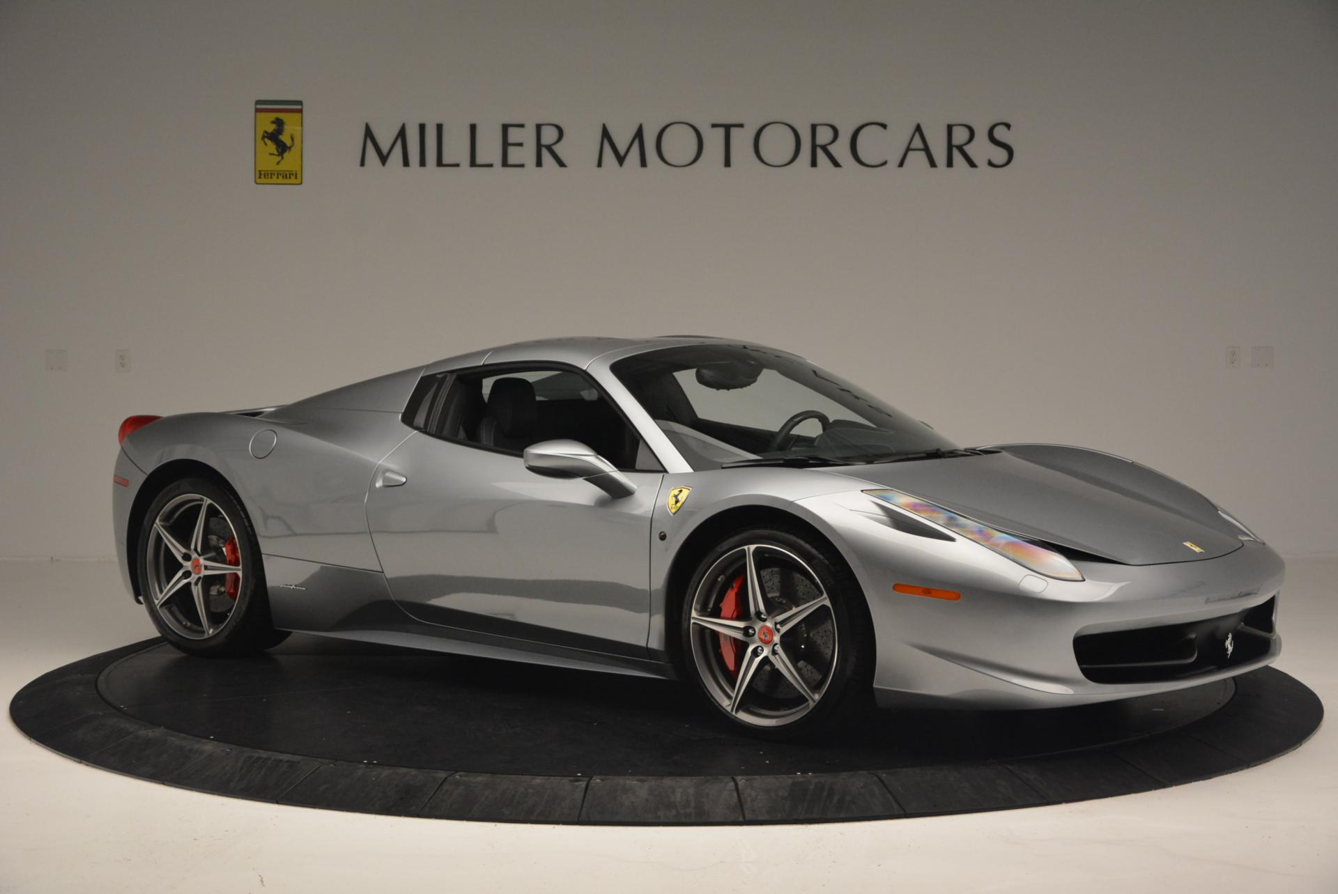 Used 2013 Ferrari 458 Spider  For Sale In Westport, CT 128_p22
