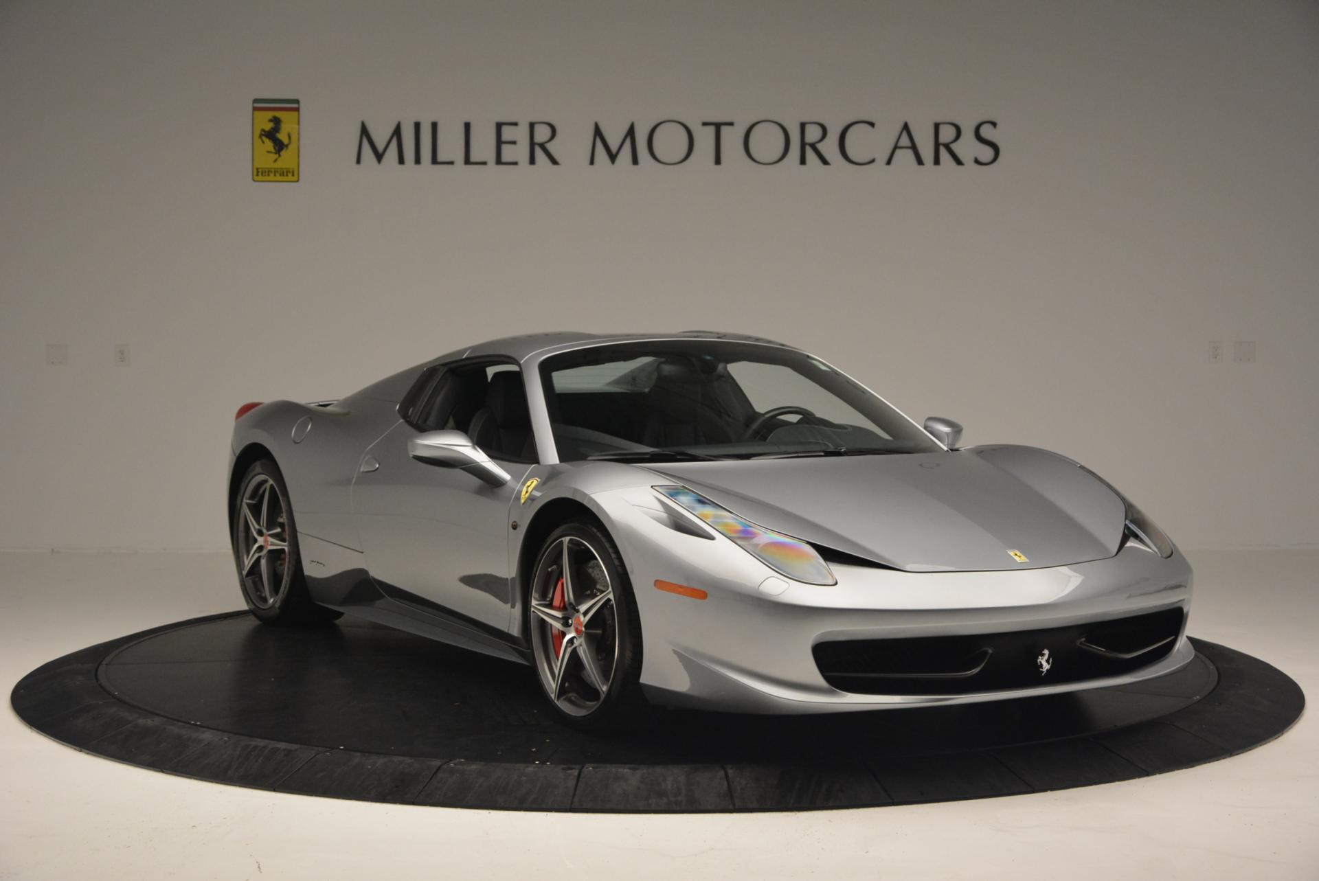 Used 2013 Ferrari 458 Spider  For Sale In Westport, CT 128_p23