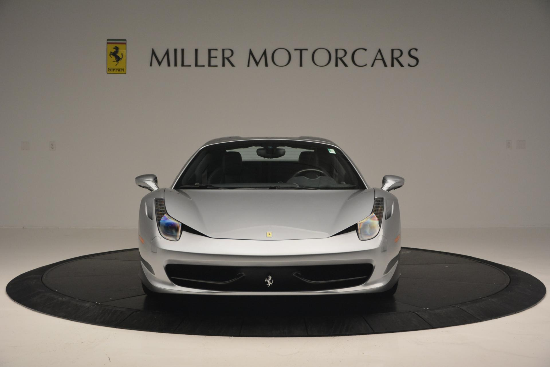 Used 2013 Ferrari 458 Spider  For Sale In Westport, CT 128_p24