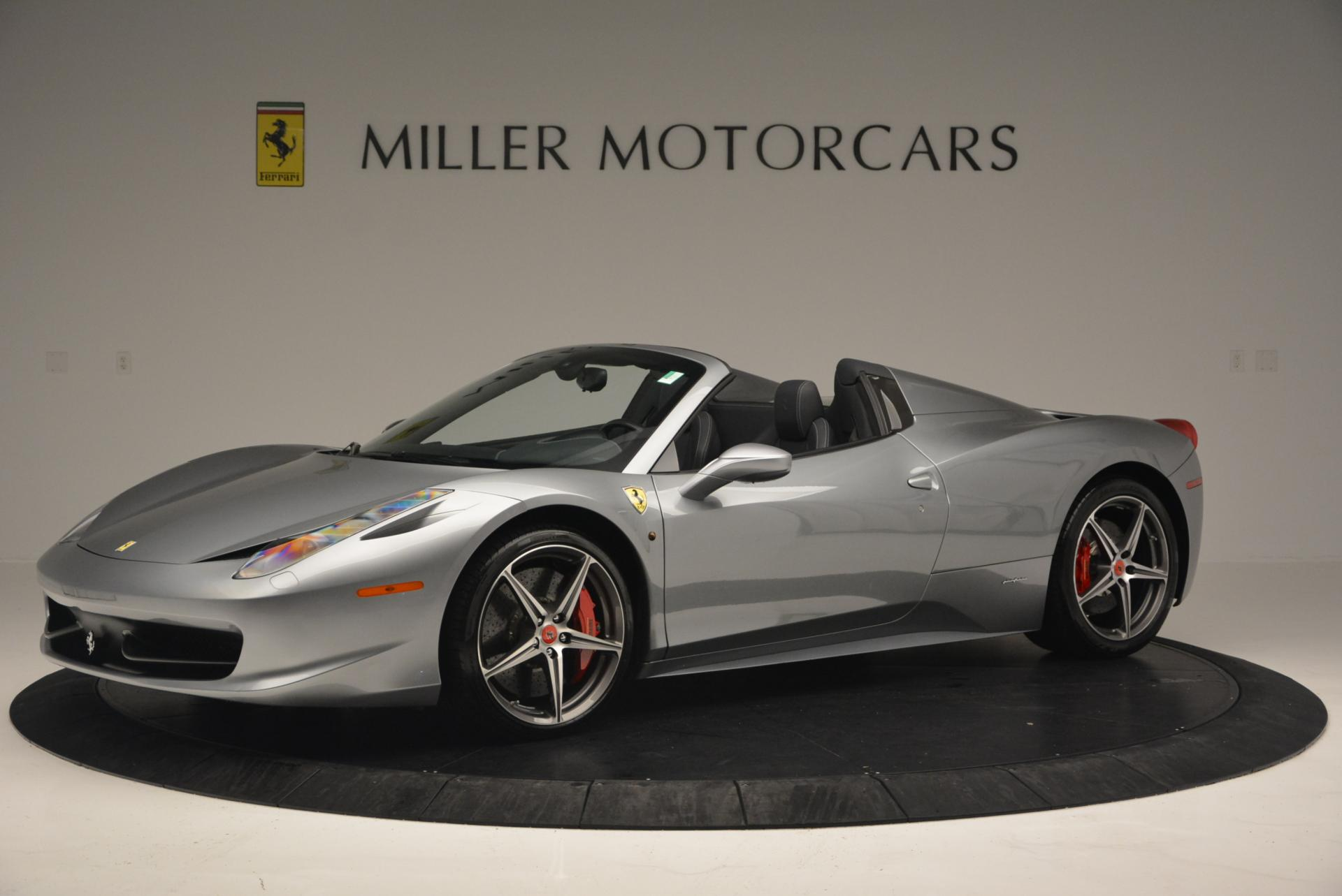 Used 2013 Ferrari 458 Spider  For Sale In Westport, CT 128_p2