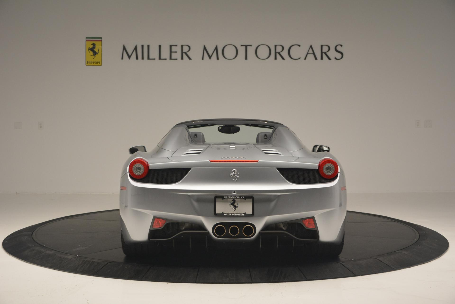 Used 2013 Ferrari 458 Spider  For Sale In Westport, CT 128_p6