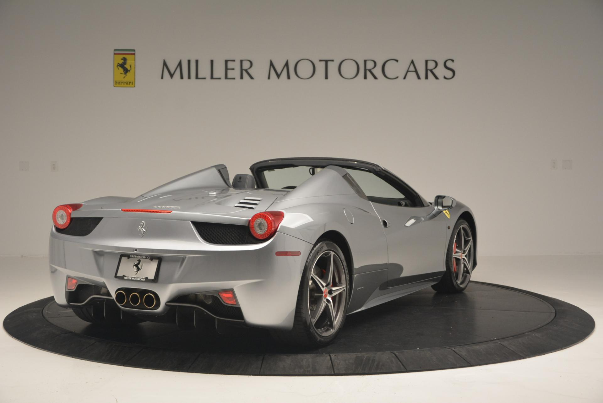 Used 2013 Ferrari 458 Spider  For Sale In Westport, CT 128_p7