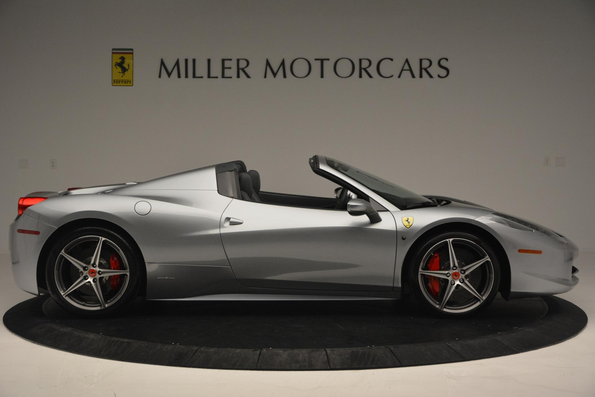 Used 2013 Ferrari 458 Spider  For Sale In Westport, CT 128_p9