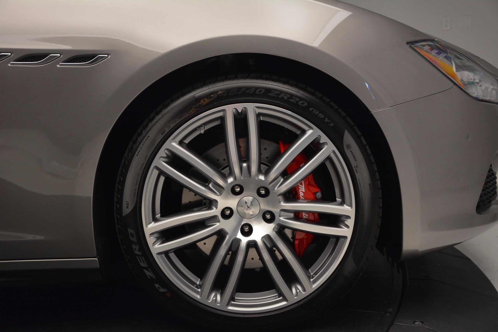 Used 2015 Maserati Ghibli S Q4 For Sale In Westport, CT 1290_p26