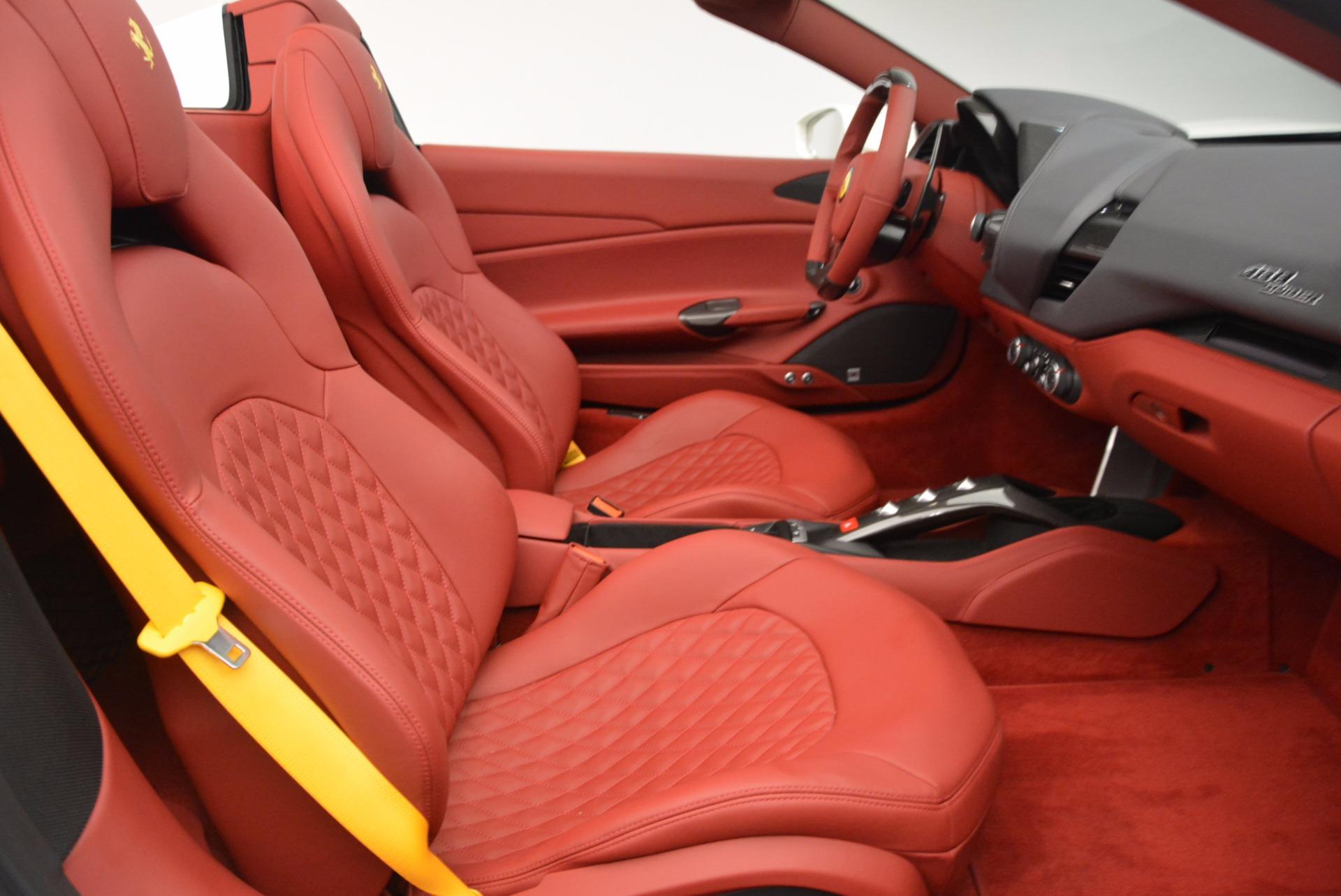 Used 2017 Ferrari 488 Spider  For Sale In Westport, CT 1296_p30