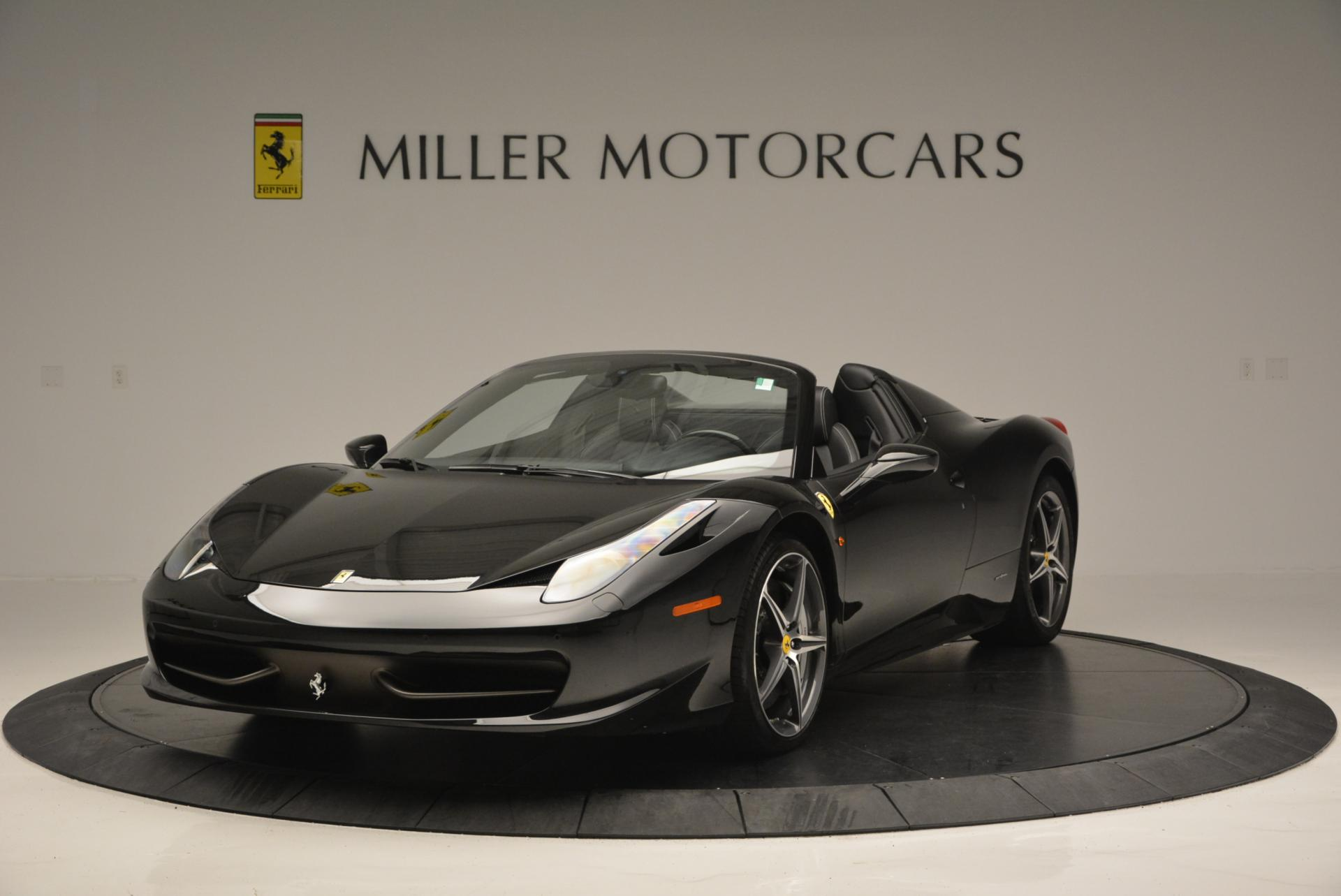 Used 2012 Ferrari 458 Spider  For Sale In Westport, CT 130_main