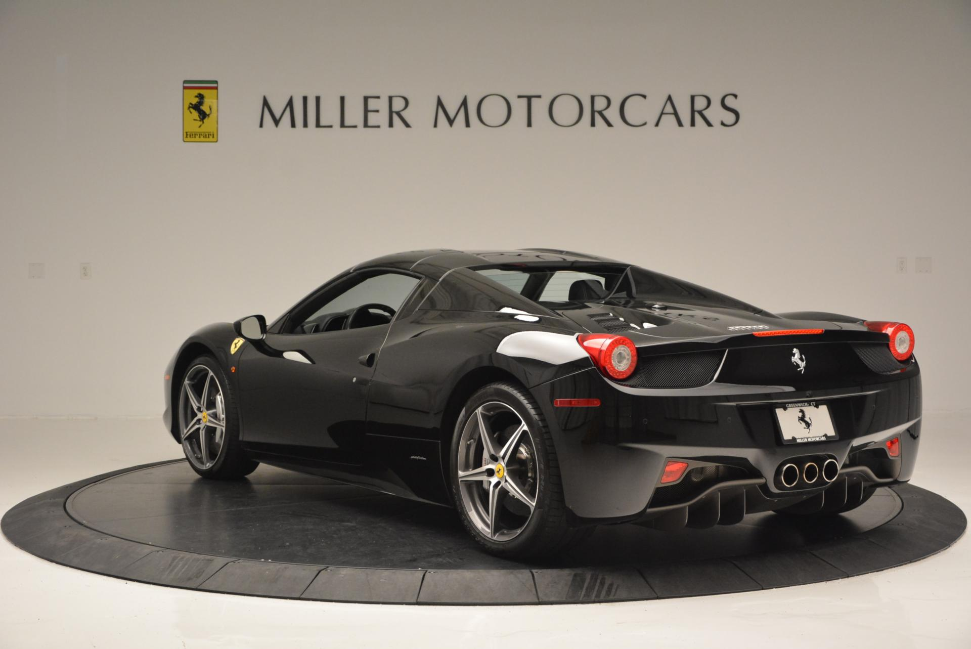 Used 2012 Ferrari 458 Spider  For Sale In Westport, CT 130_p17