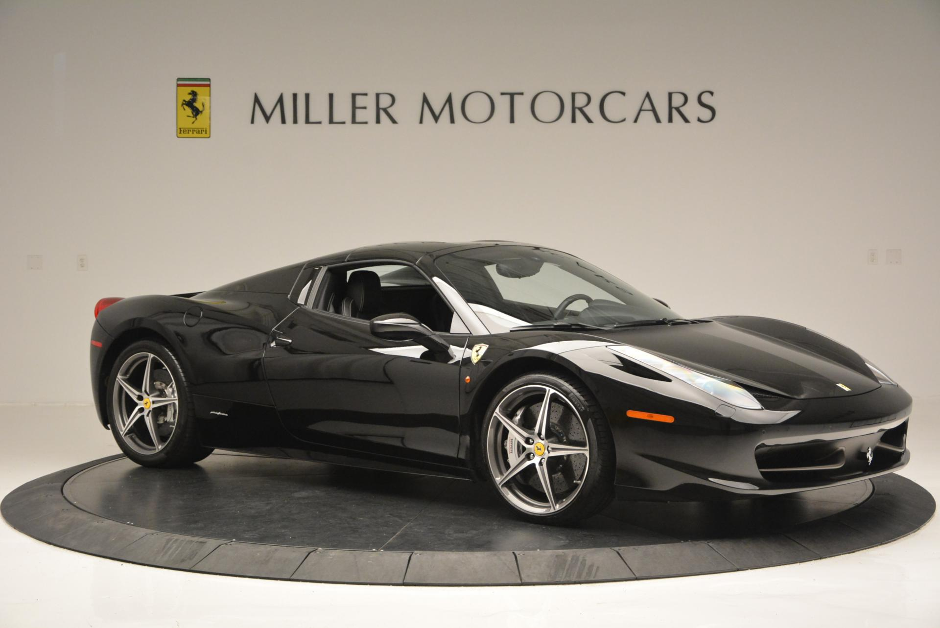 Used 2012 Ferrari 458 Spider  For Sale In Westport, CT 130_p22
