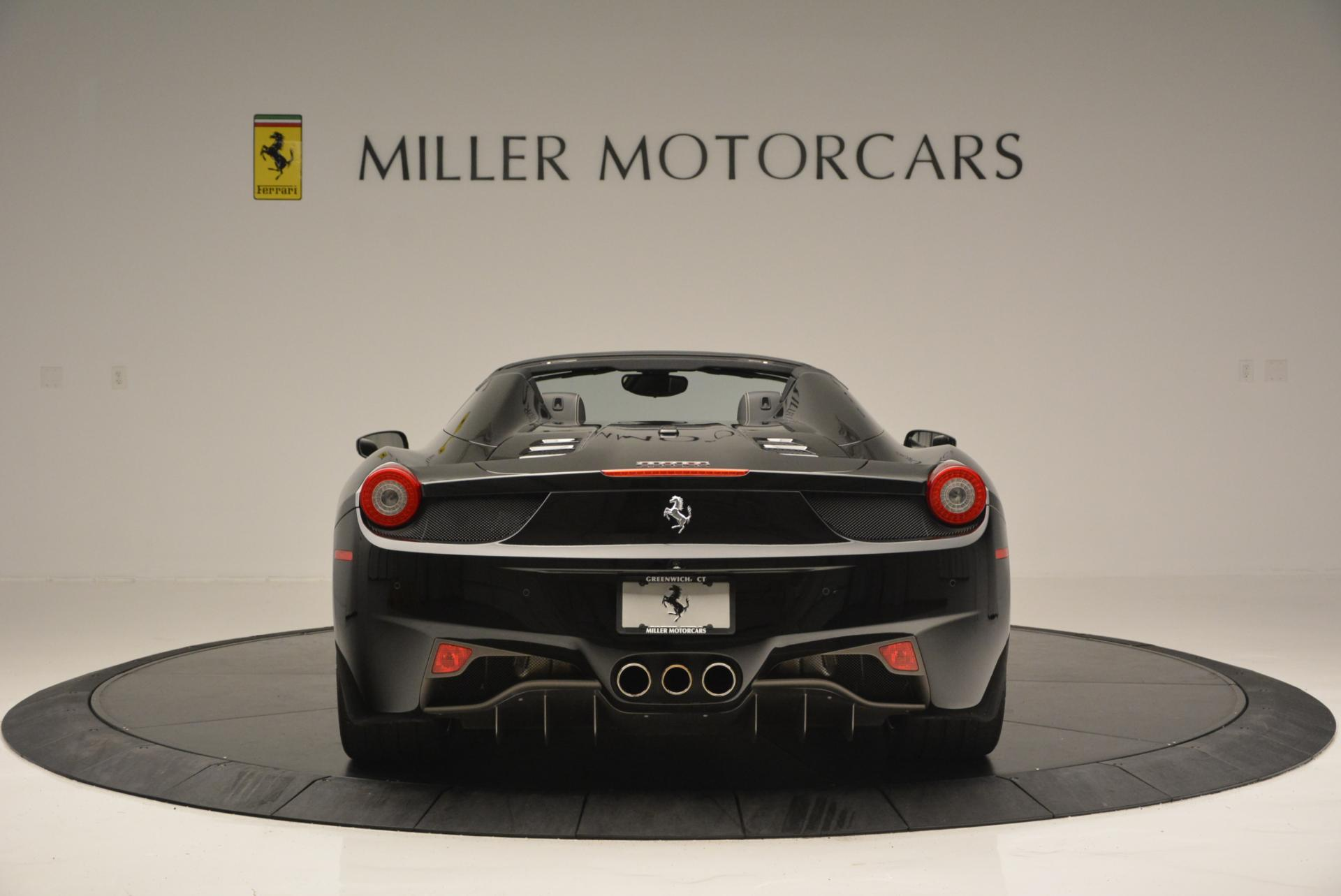 Used 2012 Ferrari 458 Spider  For Sale In Westport, CT 130_p6