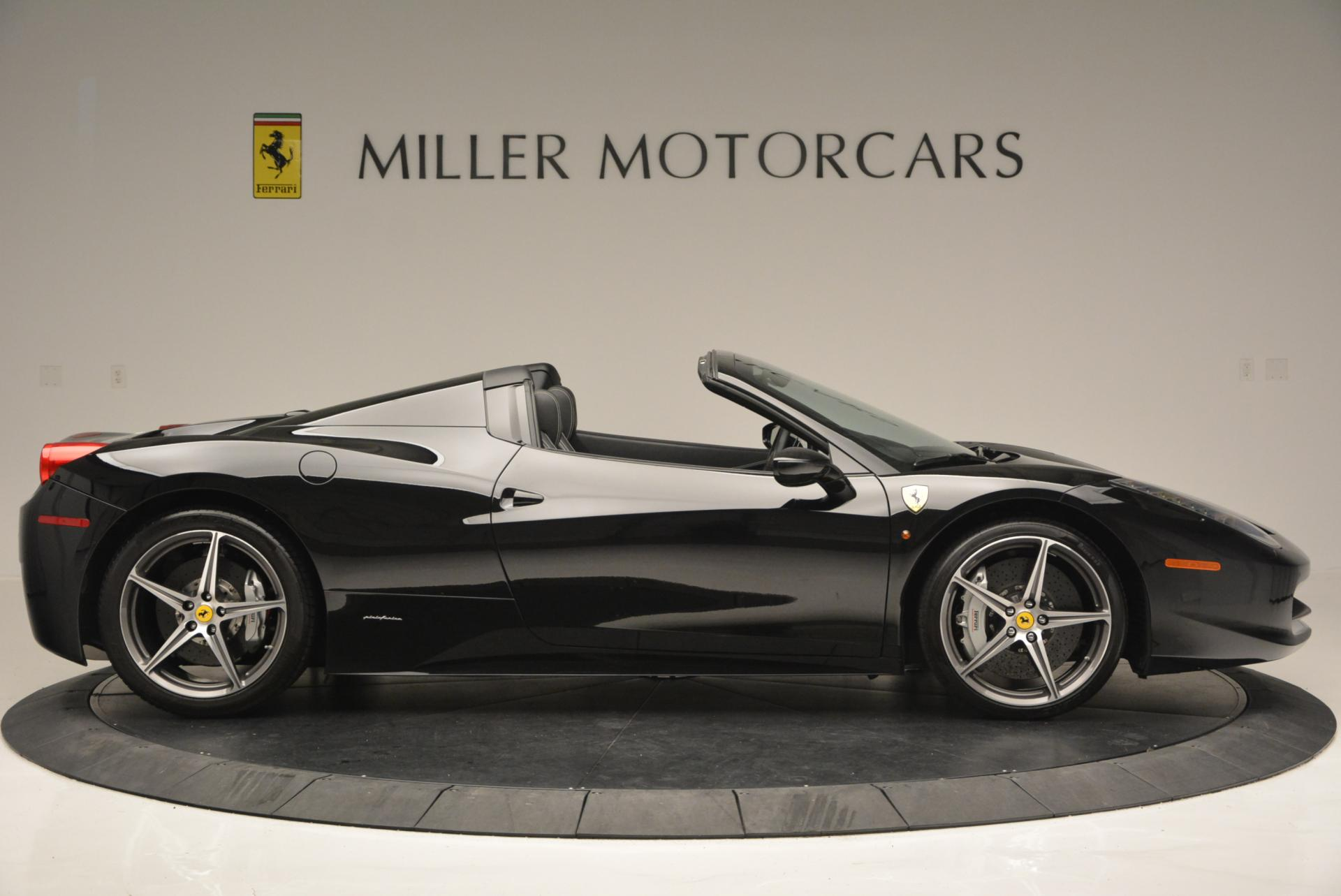 Used 2012 Ferrari 458 Spider  For Sale In Westport, CT 130_p9