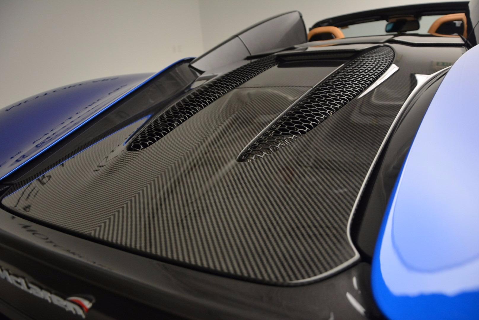 Used 2018 McLaren 570S Spider For Sale In Westport, CT 1303_p31