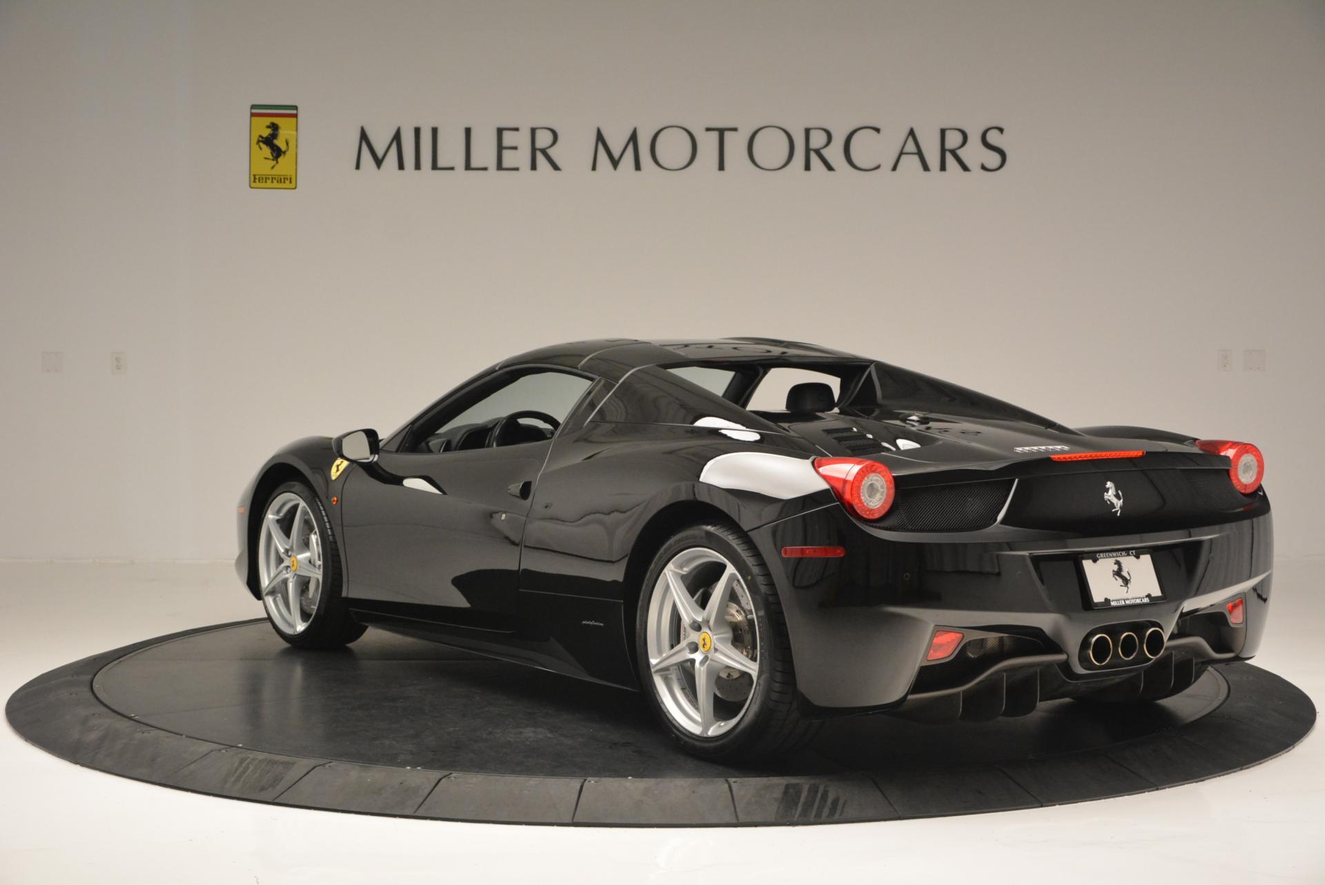 Used 2013 Ferrari 458 Spider  For Sale In Westport, CT 132_p17