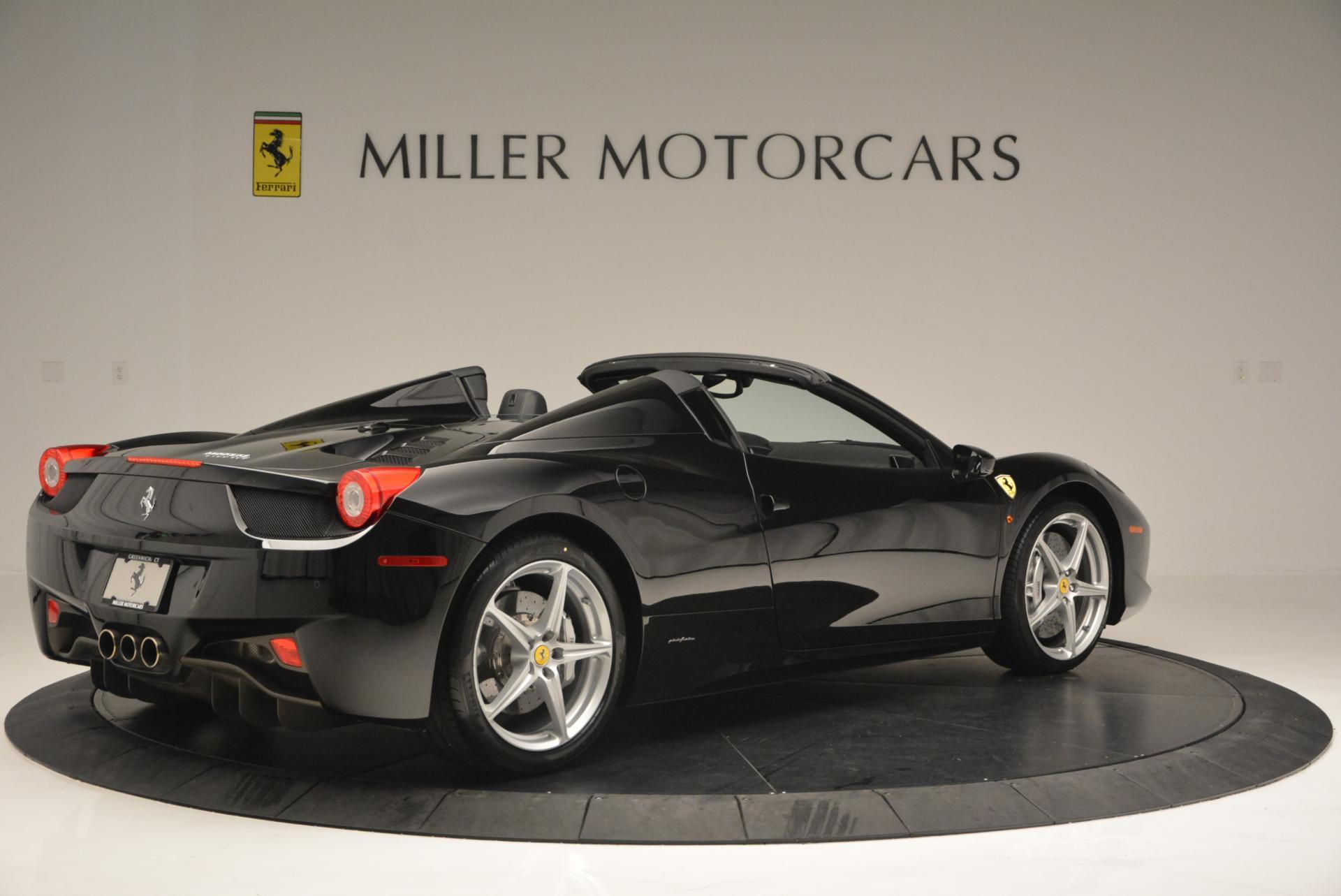 Used 2013 Ferrari 458 Spider  For Sale In Westport, CT 132_p8