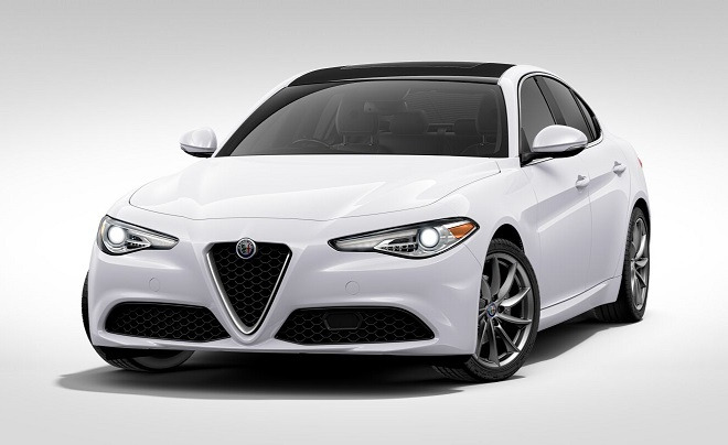 New 2017 Alfa Romeo Giulia Q4 For Sale In Westport, CT 1324_main