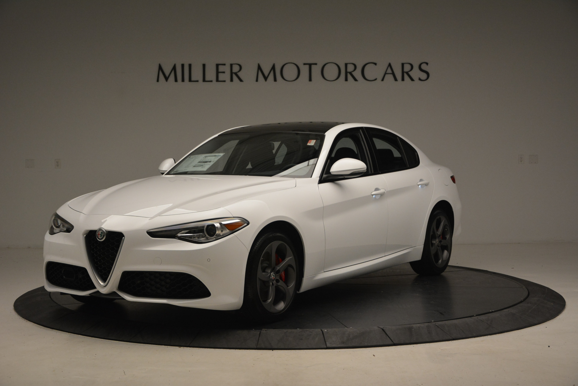 New 2017 Alfa Romeo Giulia Ti Sport Q4 For Sale In Westport, CT 1327_main