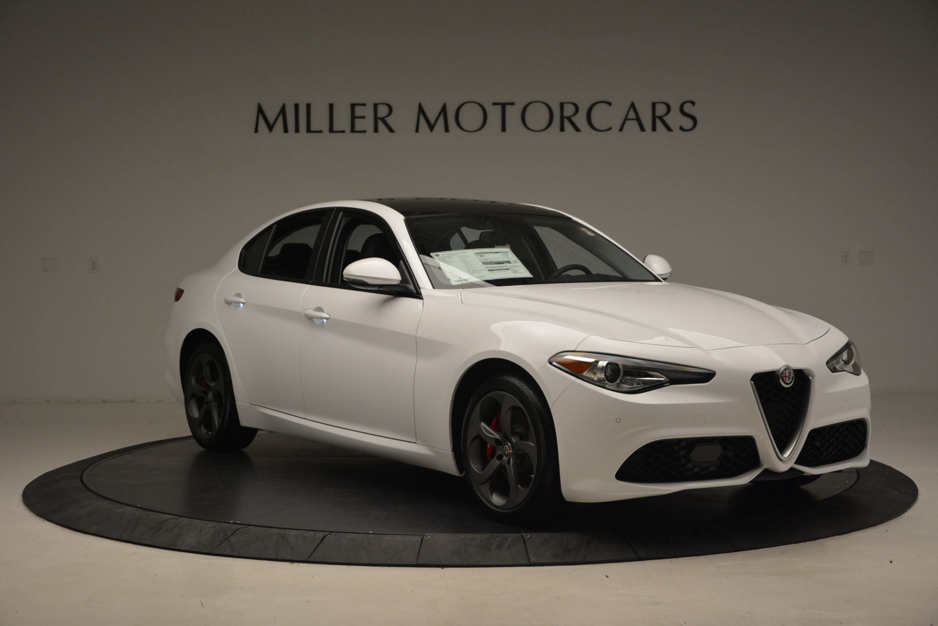 New 2017 Alfa Romeo Giulia Ti Sport Q4 For Sale In Westport, CT 1327_p11