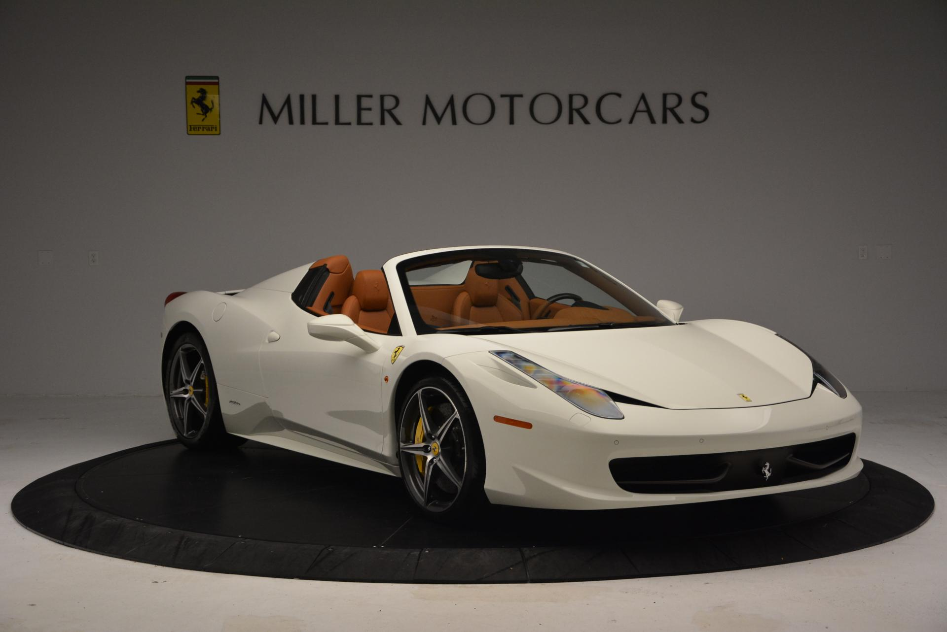 Used 2012 Ferrari 458 Spider  For Sale In Westport, CT 133_p11