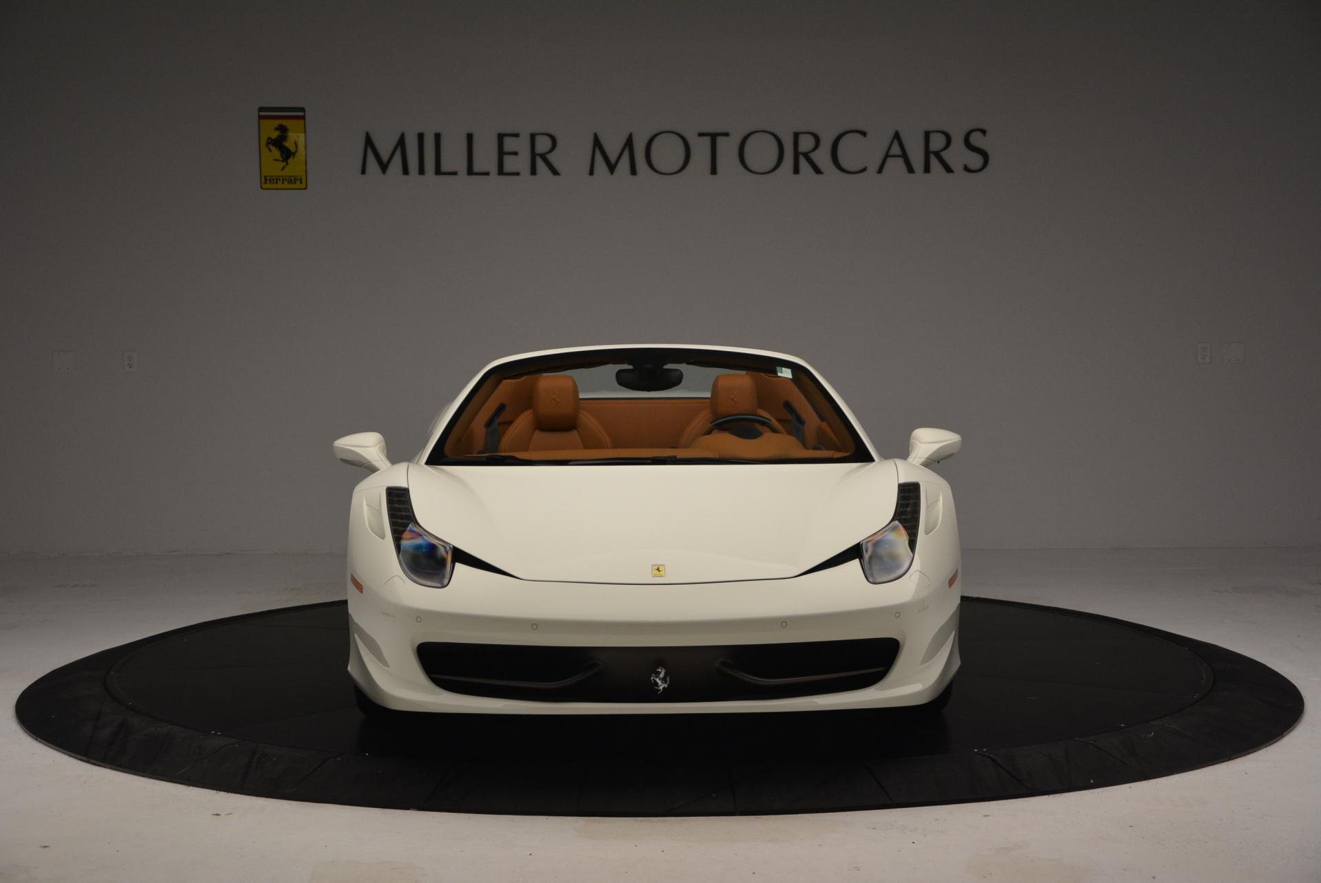 Used 2012 Ferrari 458 Spider  For Sale In Westport, CT 133_p12