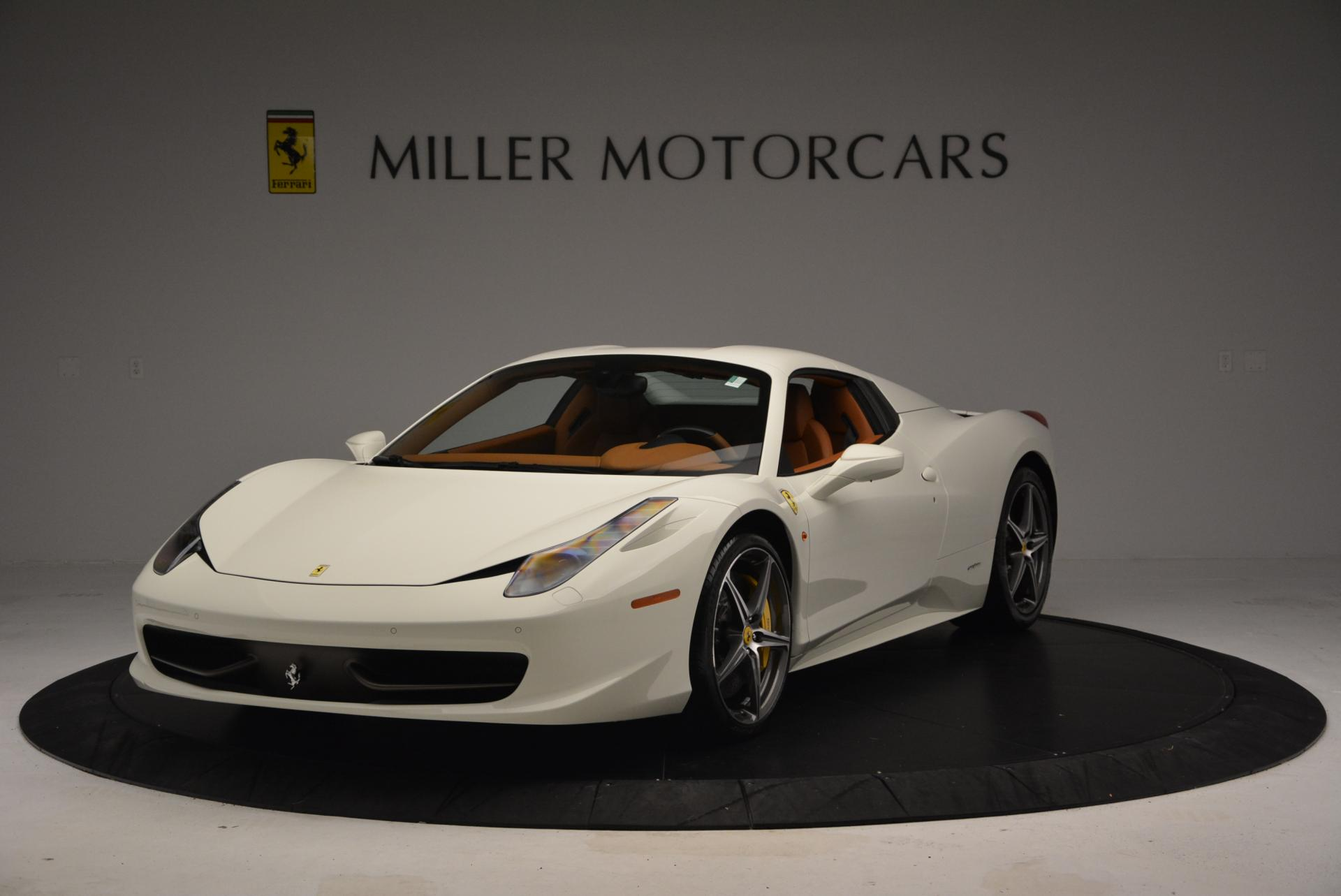 Used 2012 Ferrari 458 Spider  For Sale In Westport, CT 133_p13